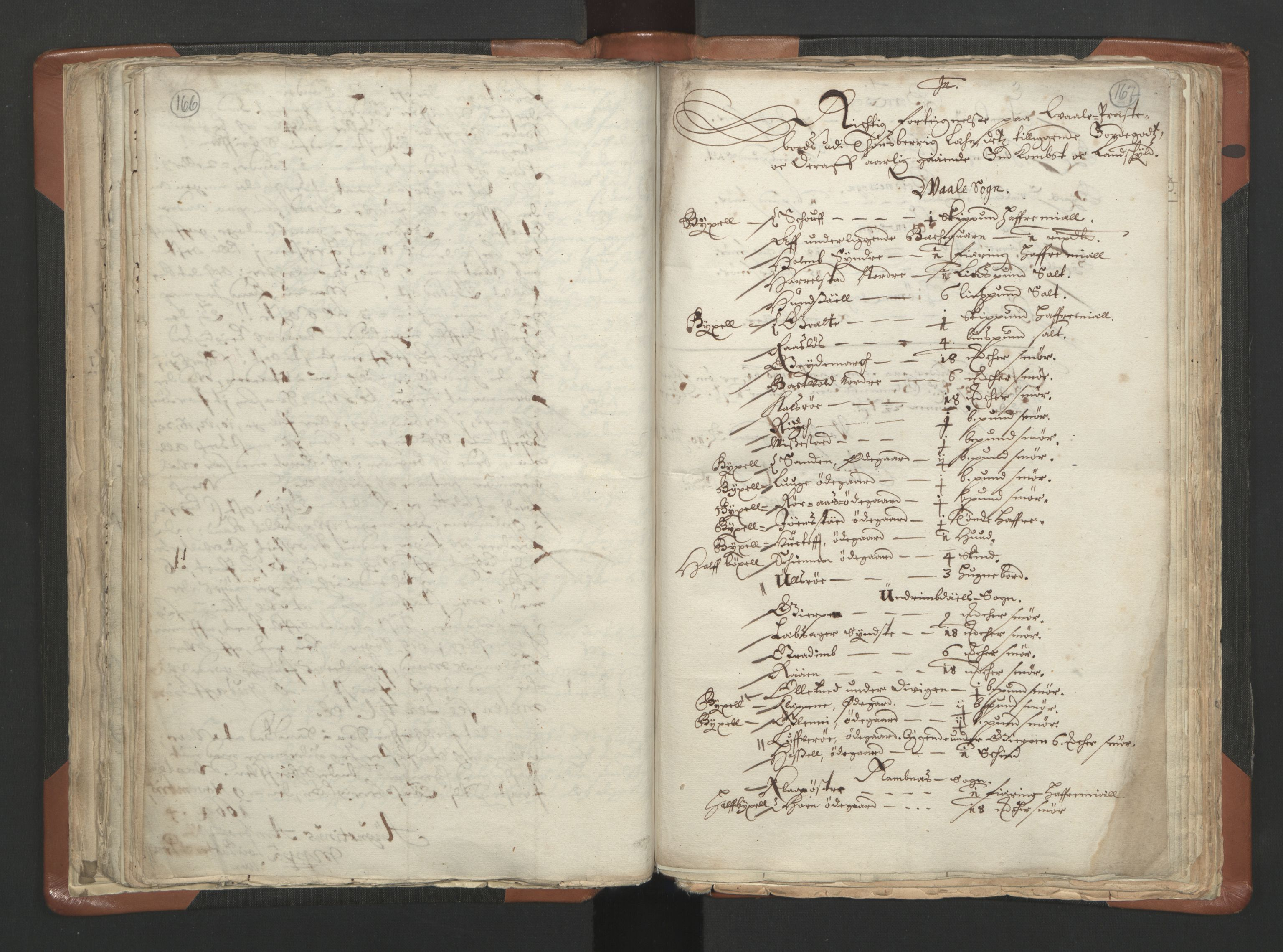 RA, Sogneprestenes manntall 1664-1666, nr. 10: Tønsberg prosti, 1664-1666, s. 166-167