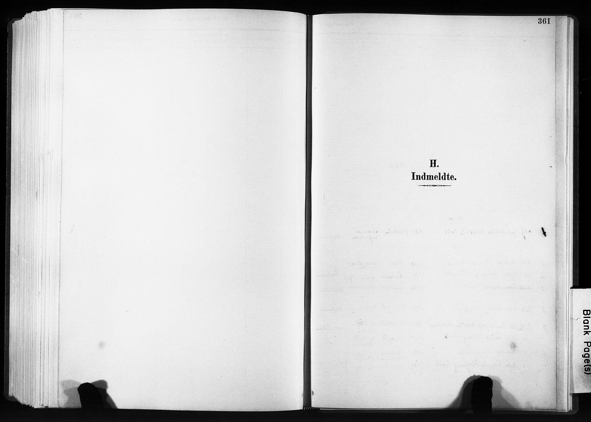 SAT, Ministerialprotokoller, klokkerbøker og fødselsregistre - Sør-Trøndelag, 606/L0300: Ministerialbok nr. 606A15, 1886-1893, s. 361