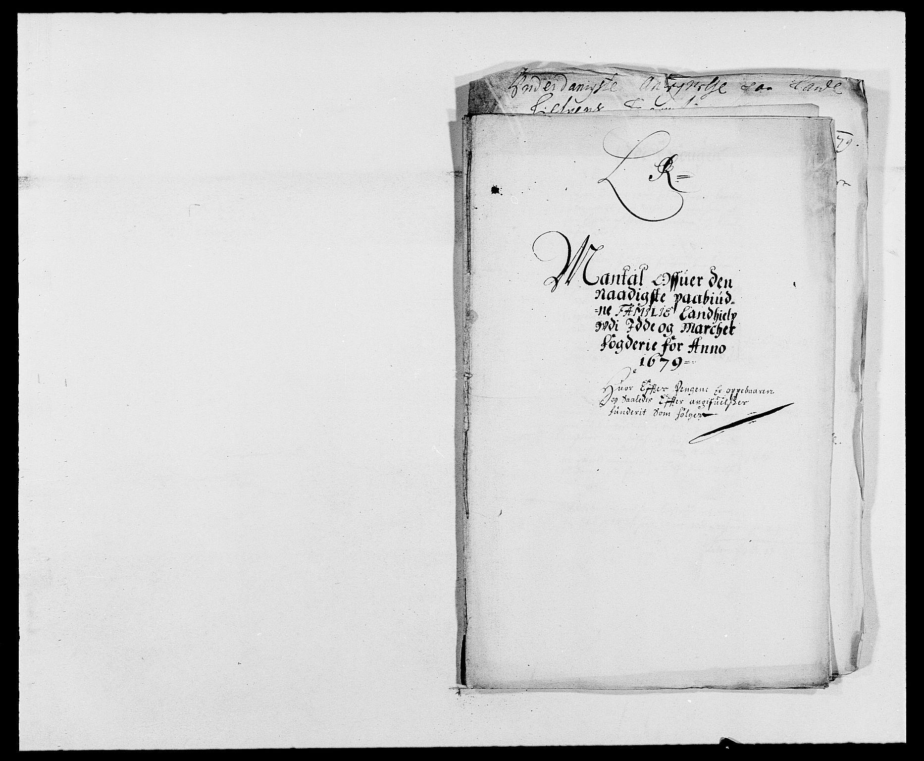 RA, Rentekammeret inntil 1814, Reviderte regnskaper, Fogderegnskap, R01/L0001: Fogderegnskap Idd og Marker, 1678-1679, s. 433