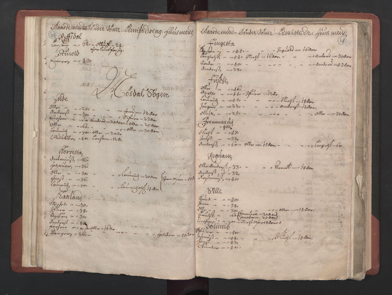 RA, Fogdenes og sorenskrivernes manntall 1664-1666, nr. 15: Nordfjord fogderi og Sunnfjord fogderi, 1664, s. 60-61