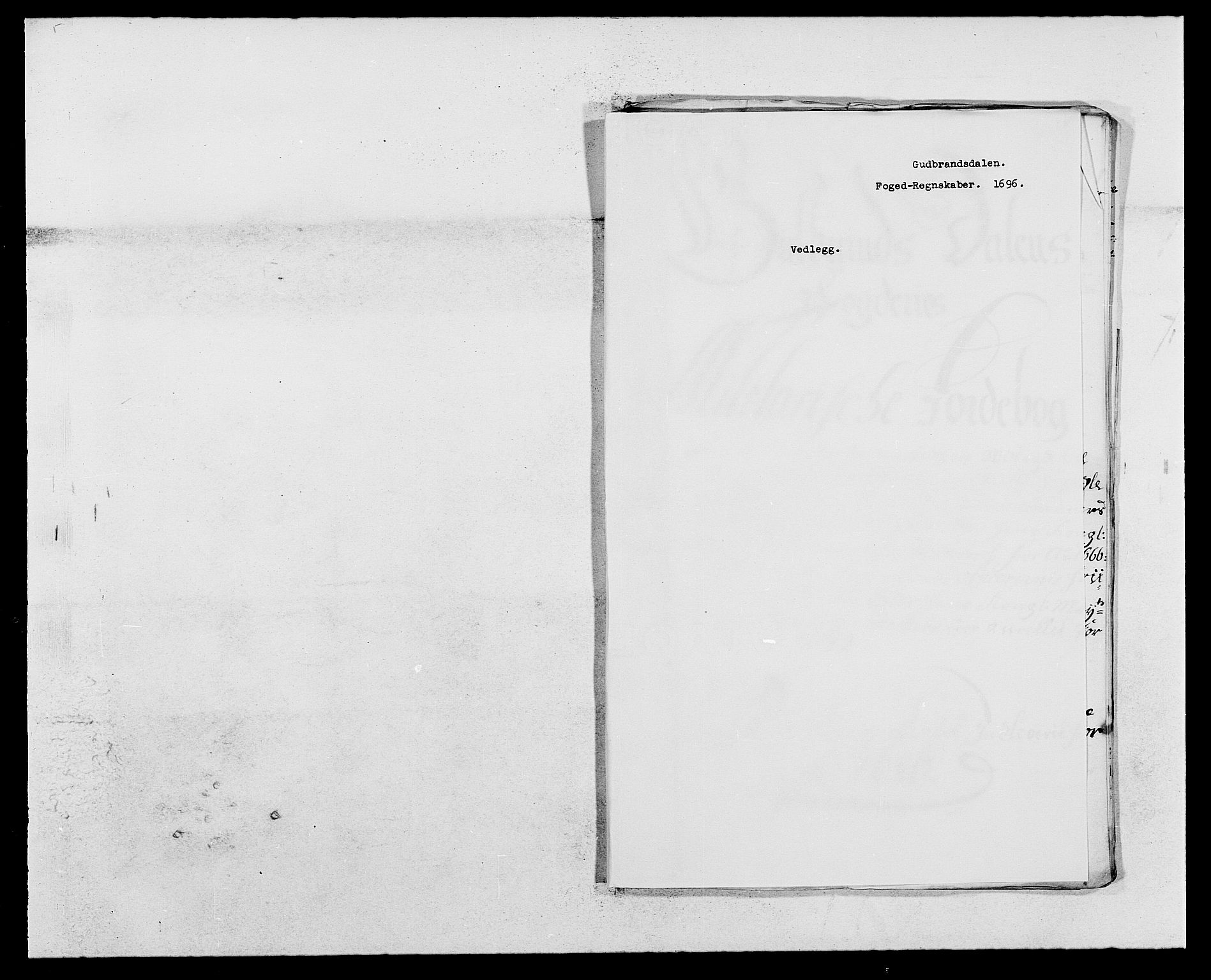 RA, Rentekammeret inntil 1814, Reviderte regnskaper, Fogderegnskap, R17/L1161: Fogderegnskap Gudbrandsdal, 1682-1689, s. 279