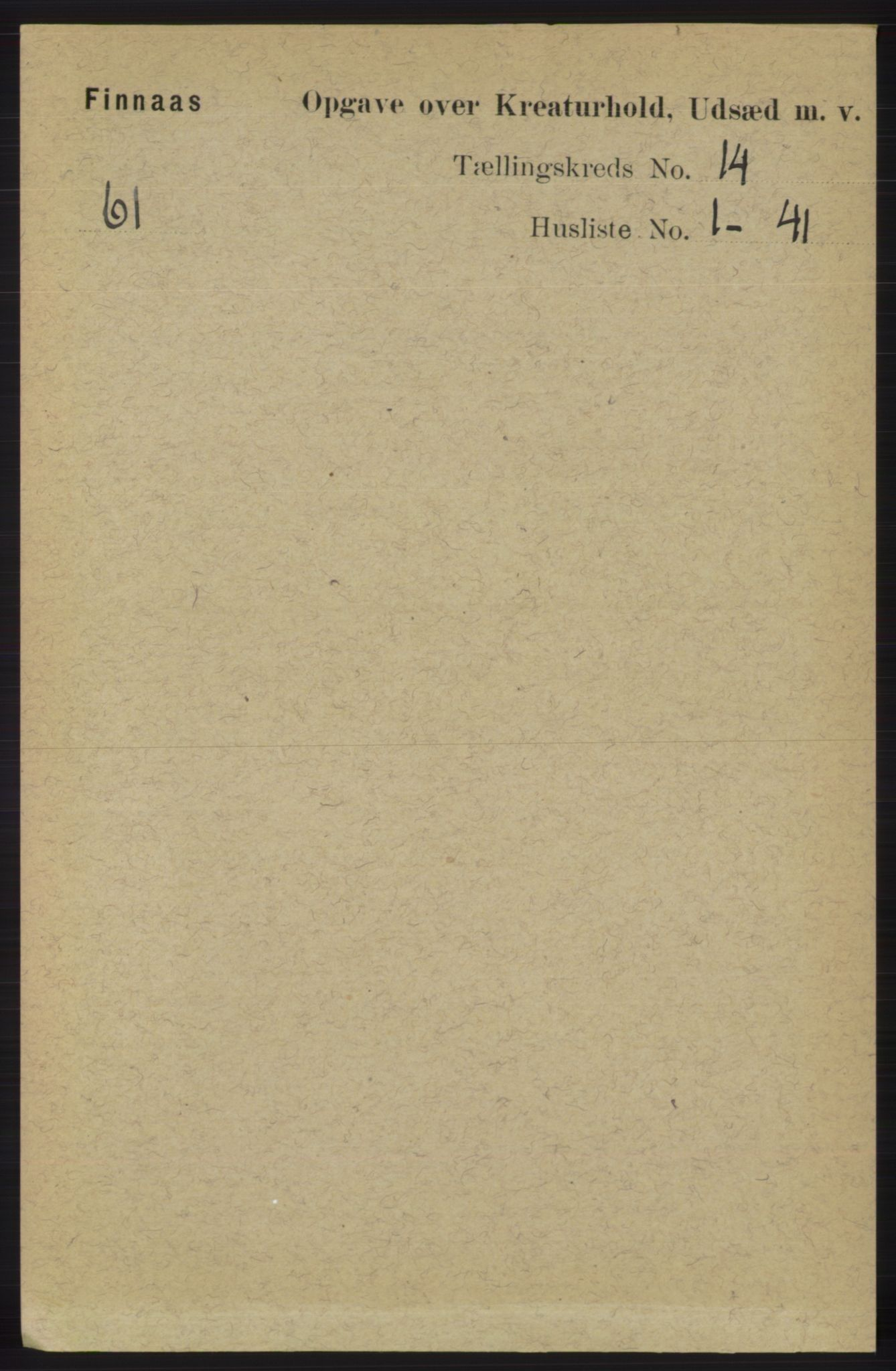 RA, Folketelling 1891 for 1218 Finnås herred, 1891, s. 7527
