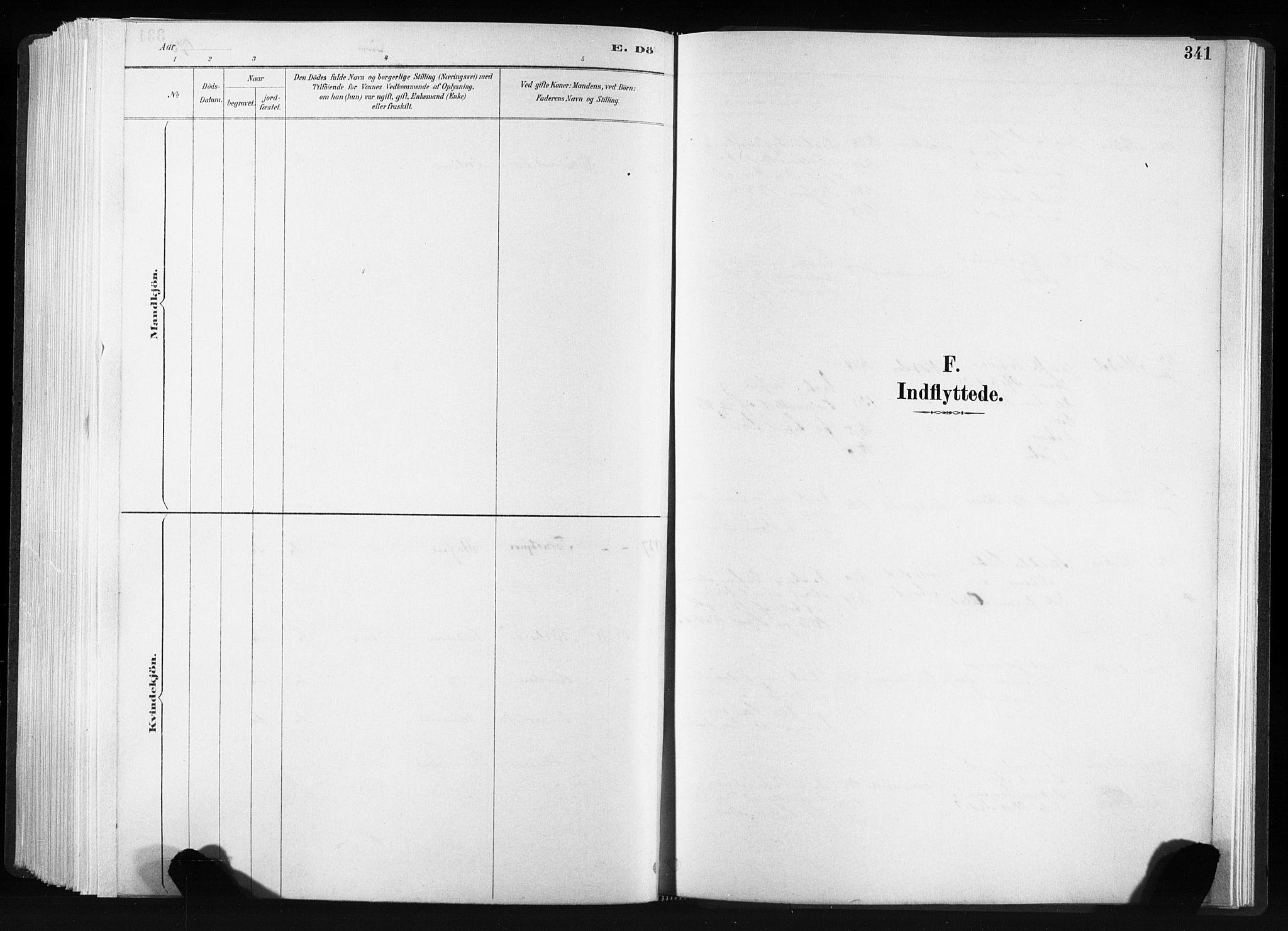SAT, Ministerialprotokoller, klokkerbøker og fødselsregistre - Sør-Trøndelag, 606/L0300: Ministerialbok nr. 606A15, 1886-1893, s. 341
