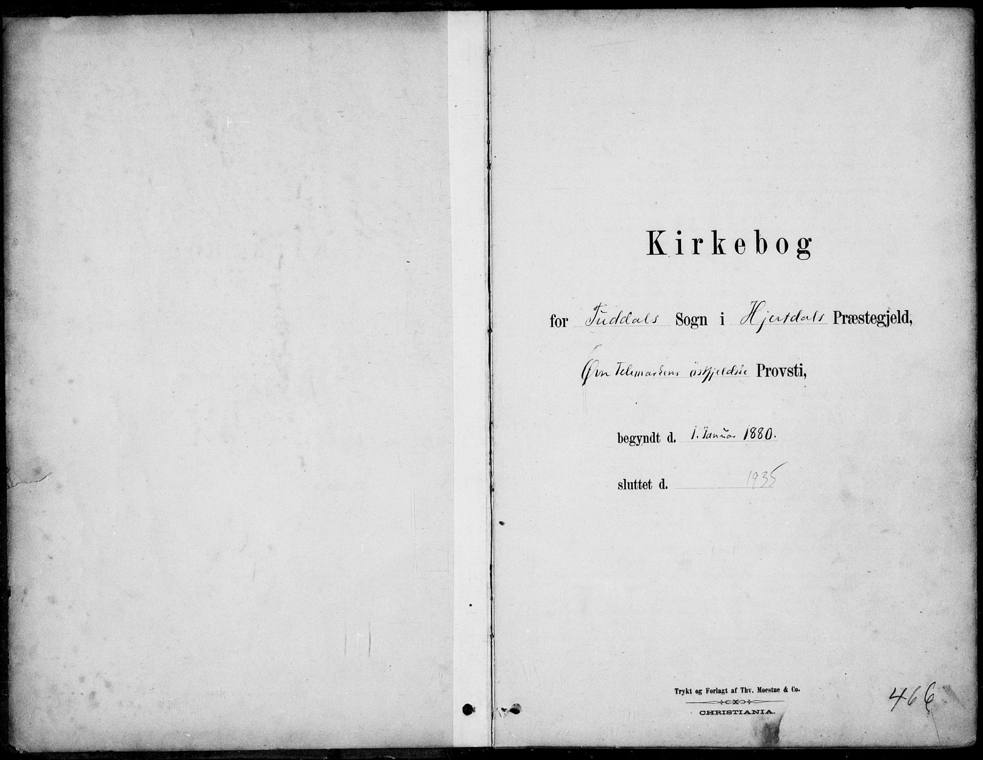 SAKO, Hjartdal kirkebøker, F/Fc/L0002: Ministerialbok nr. III 2, 1880-1936