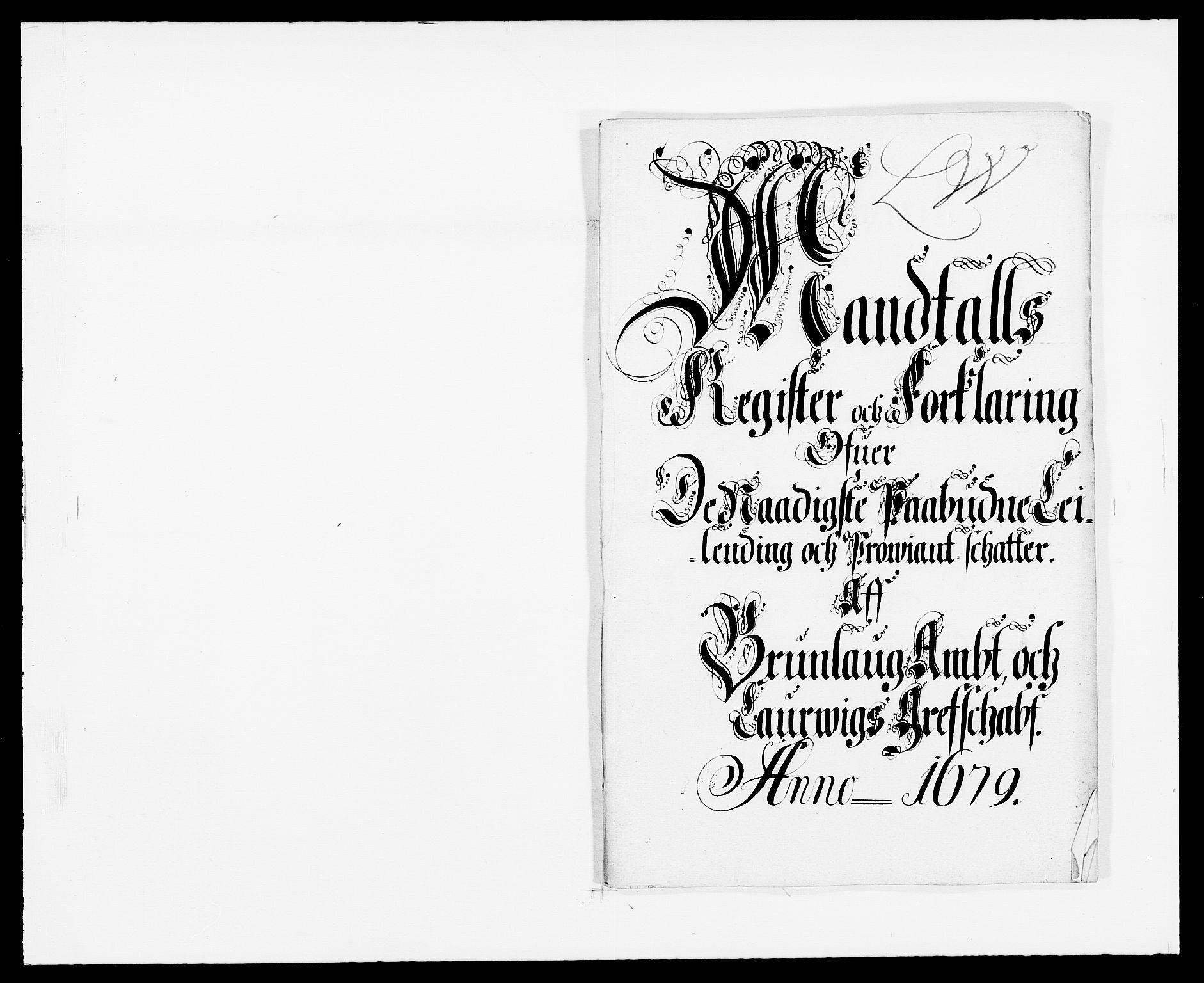 RA, Rentekammeret inntil 1814, Reviderte regnskaper, Fogderegnskap, R33/L1968: Fogderegnskap Larvik grevskap, 1675-1687, s. 234