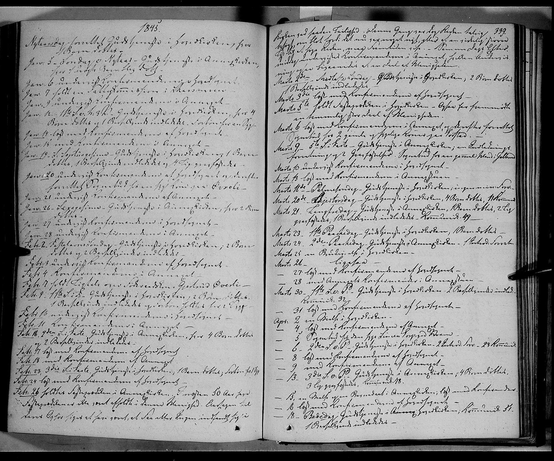 SAH, Øyer prestekontor, Ministerialbok nr. 5, 1842-1857, s. 339