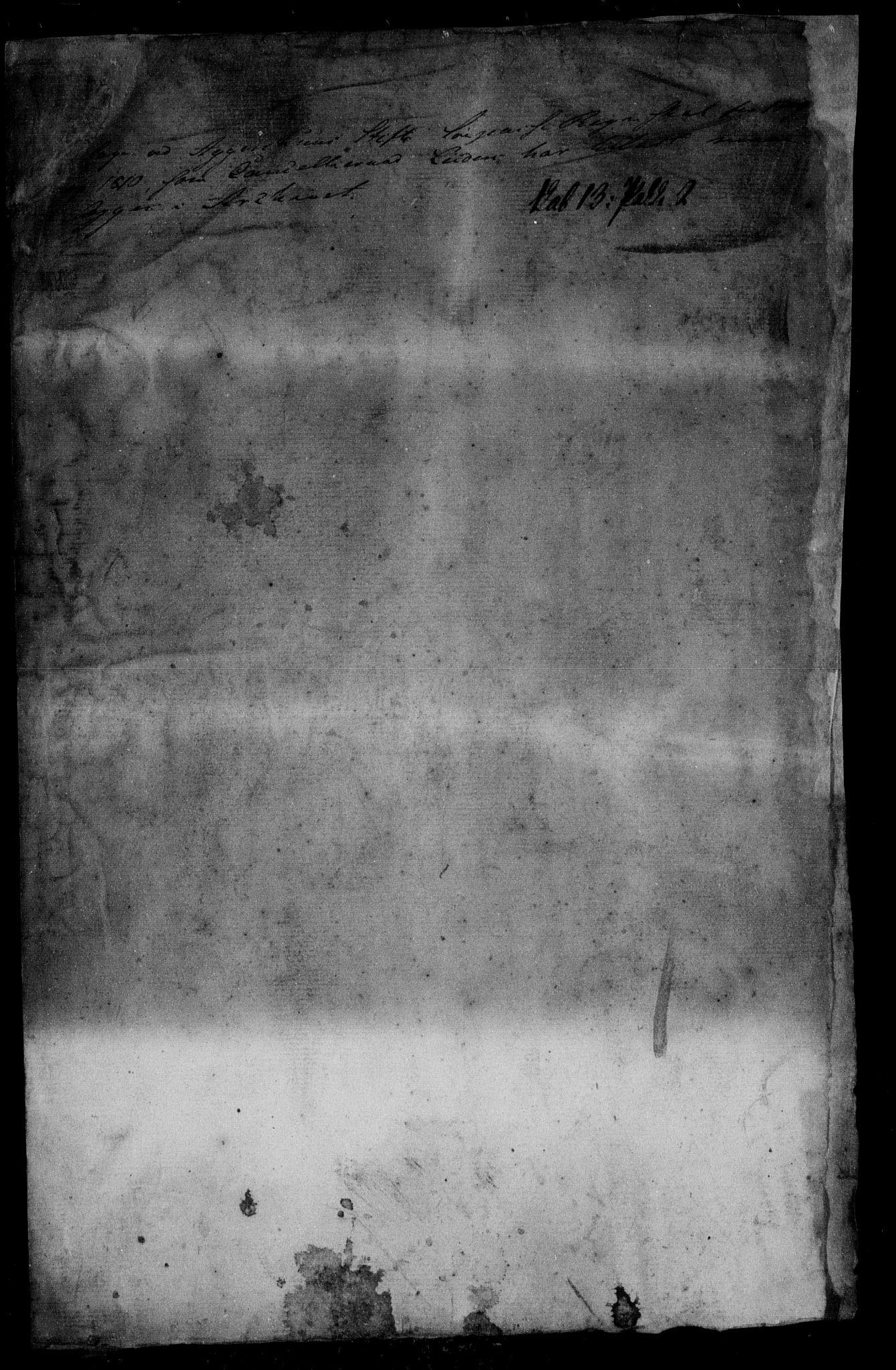 RA, Danske Kanselli, Skapsaker, F/L0052: Skap 13, pakke 2, 1809-1810, s. 4