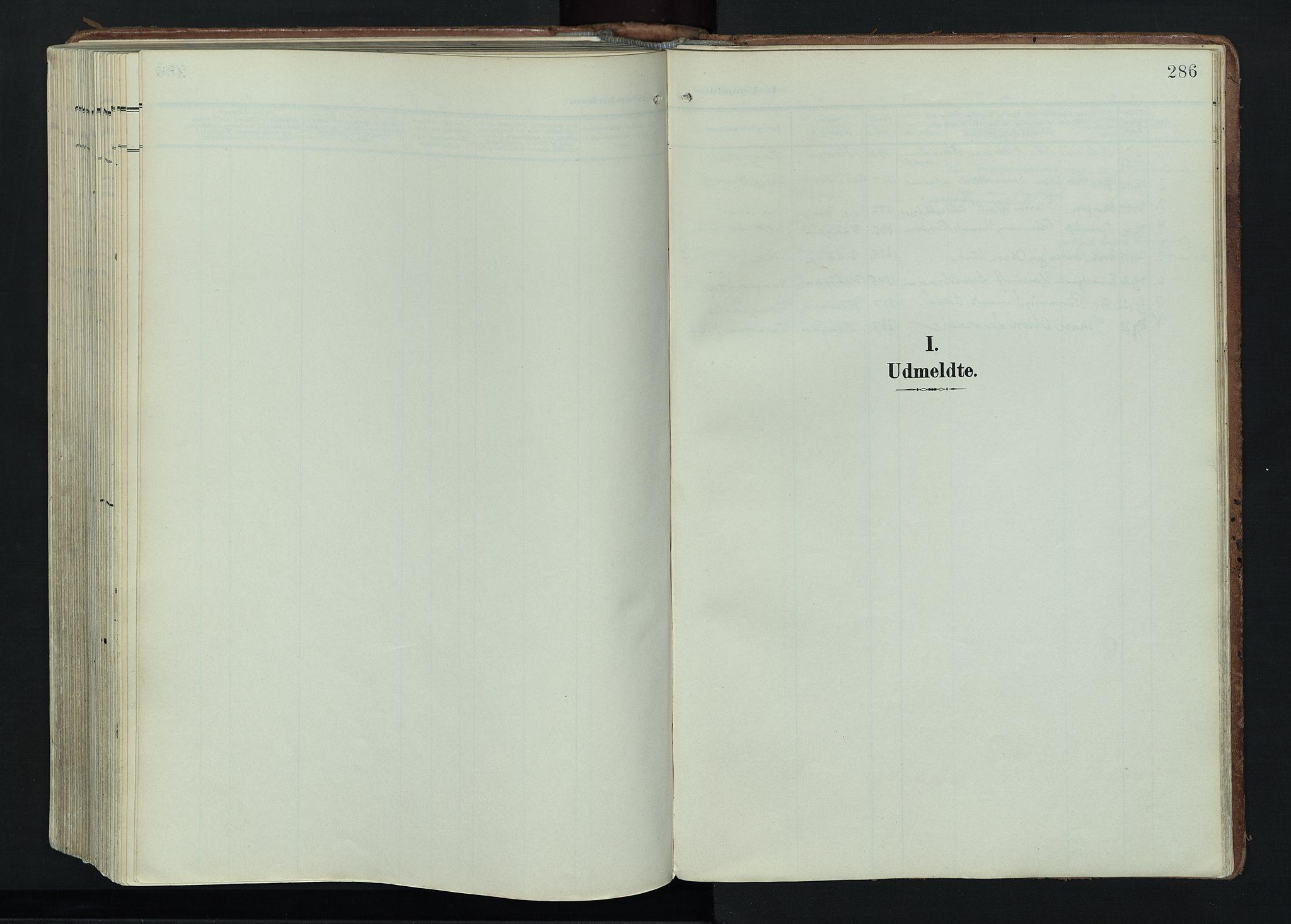 SAH, Vågå prestekontor, Ministerialbok nr. 11, 1905-1924, s. 286