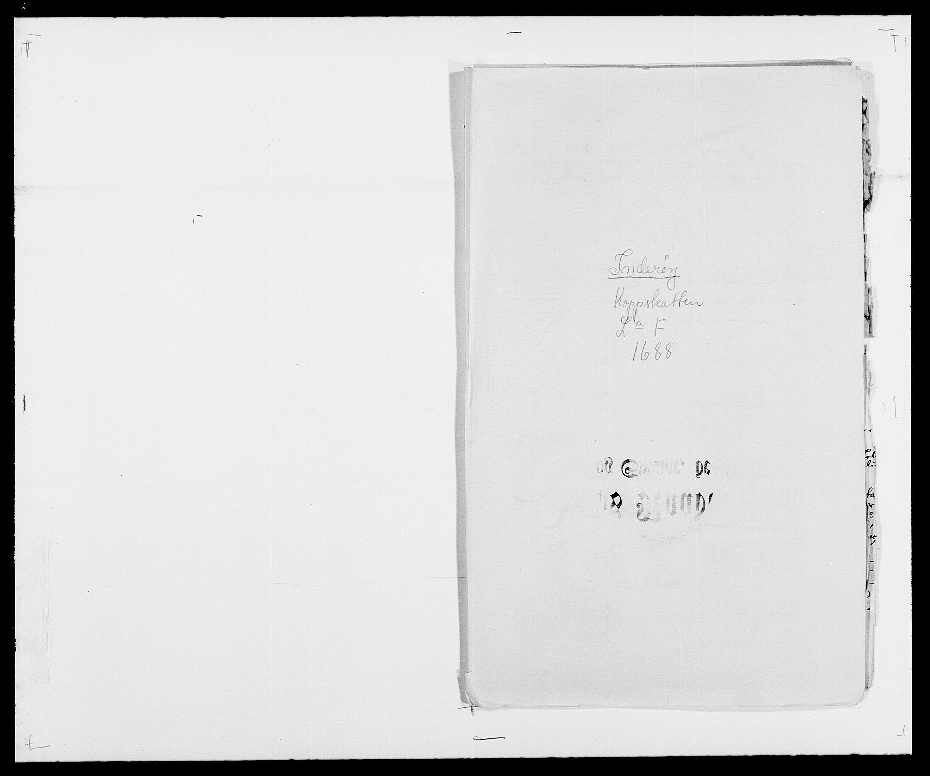 RA, Rentekammeret inntil 1814, Reviderte regnskaper, Fogderegnskap, R63/L4306: Fogderegnskap Inderøy, 1687-1689, s. 268