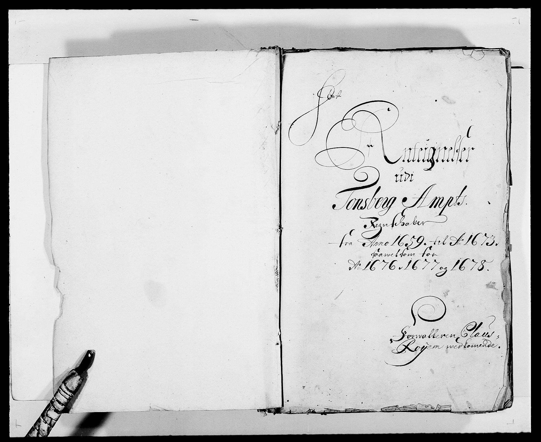 RA, Rentekammeret inntil 1814, Reviderte regnskaper, Fogderegnskap, R32/L1863: Fogderegnskap Jarlsberg grevskap, 1659-1687, s. 2