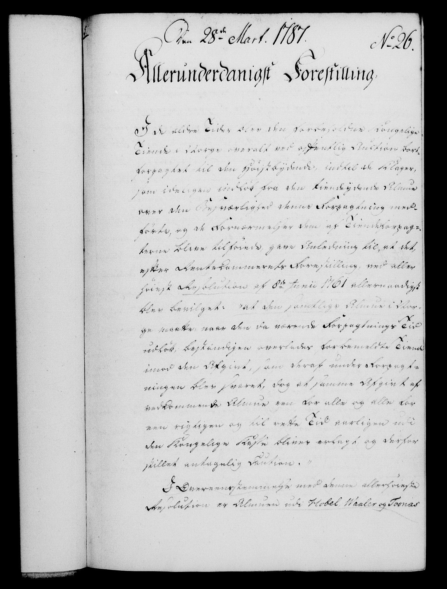 RA, Rentekammeret, Kammerkanselliet, G/Gf/Gfa/L0069: Norsk relasjons- og resolusjonsprotokoll (merket RK 52.69), 1787, s. 208