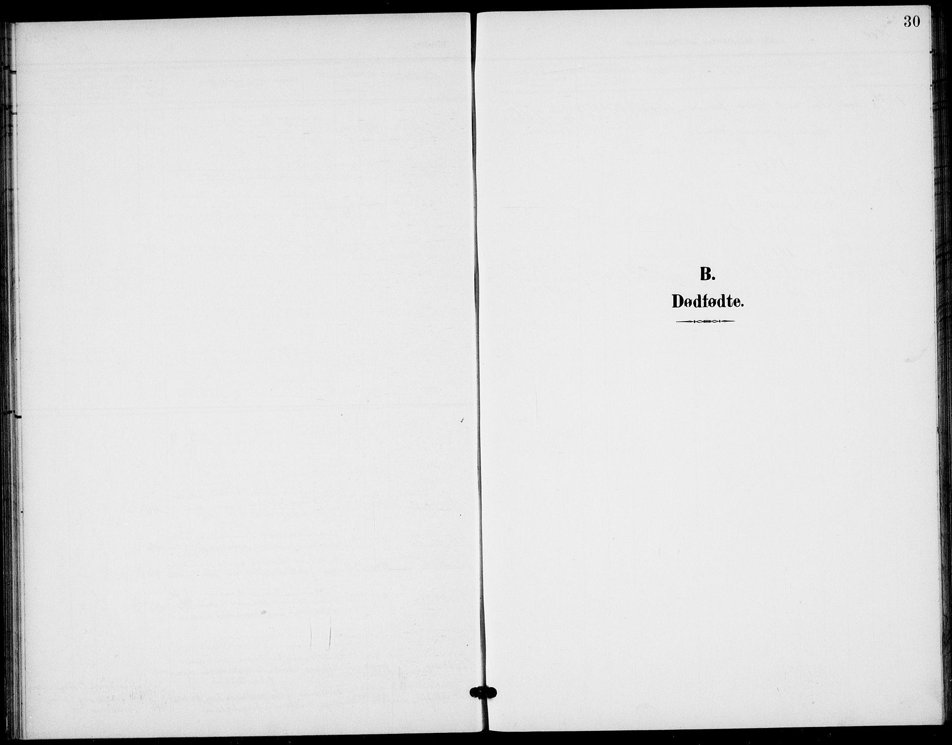 SAKO, Bamble kirkebøker, G/Gb/L0002: Klokkerbok nr. II 2, 1900-1925, s. 30
