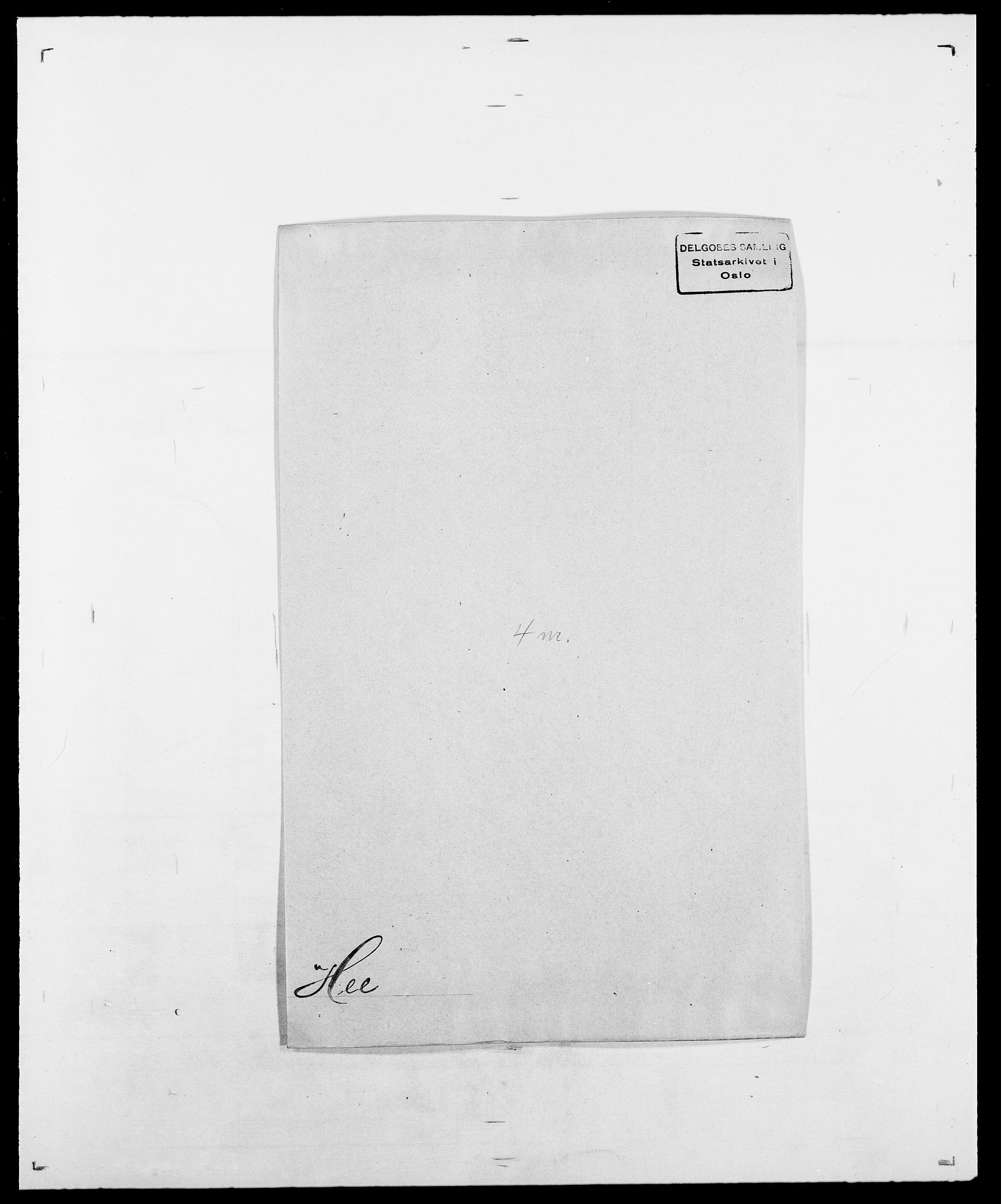SAO, Delgobe, Charles Antoine - samling, D/Da/L0016: Hamborg - Hektoen, s. 677