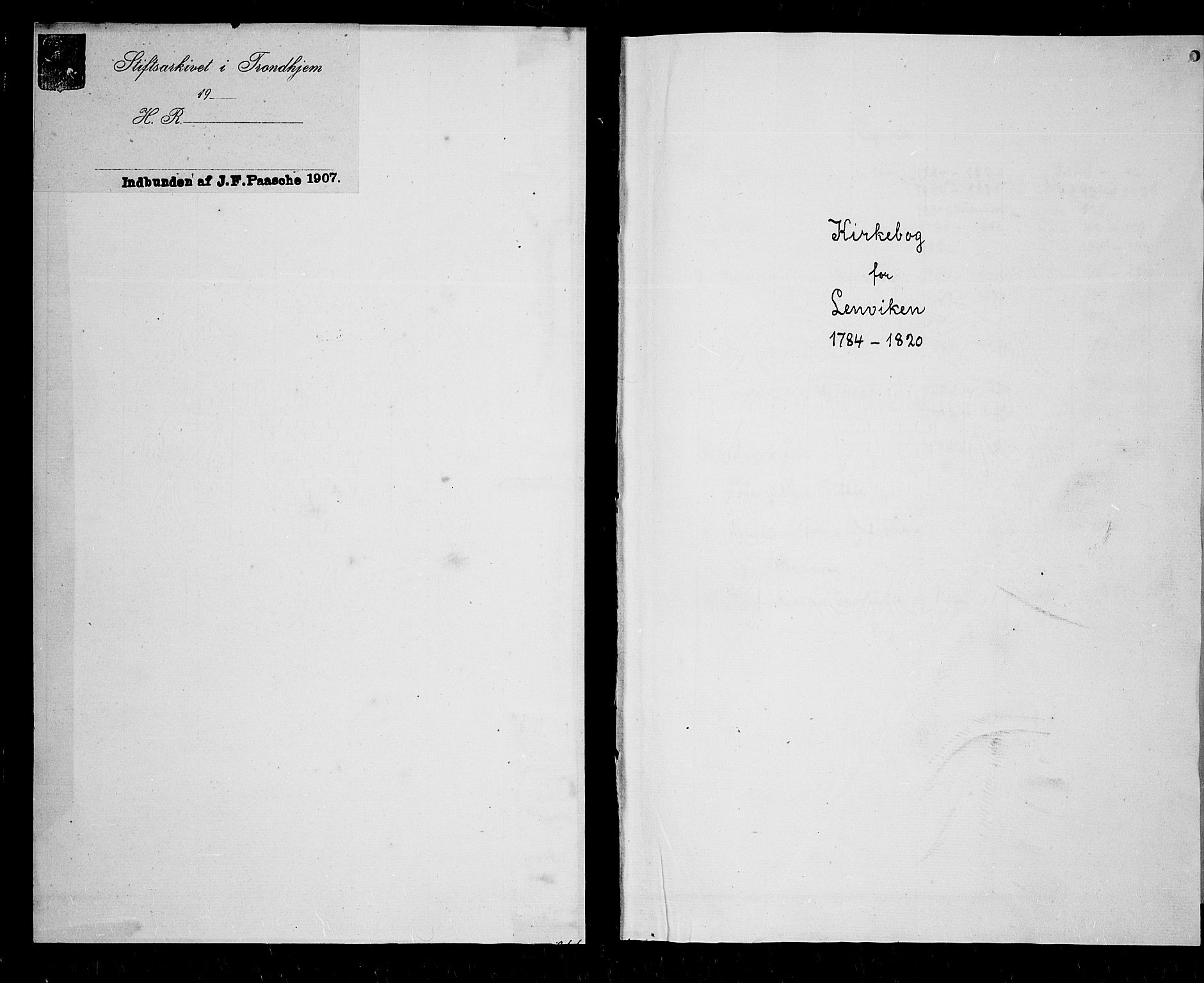 SATØ, Lenvik sokneprestembete, H/Ha: Ministerialbok nr. 2, 1784-1820