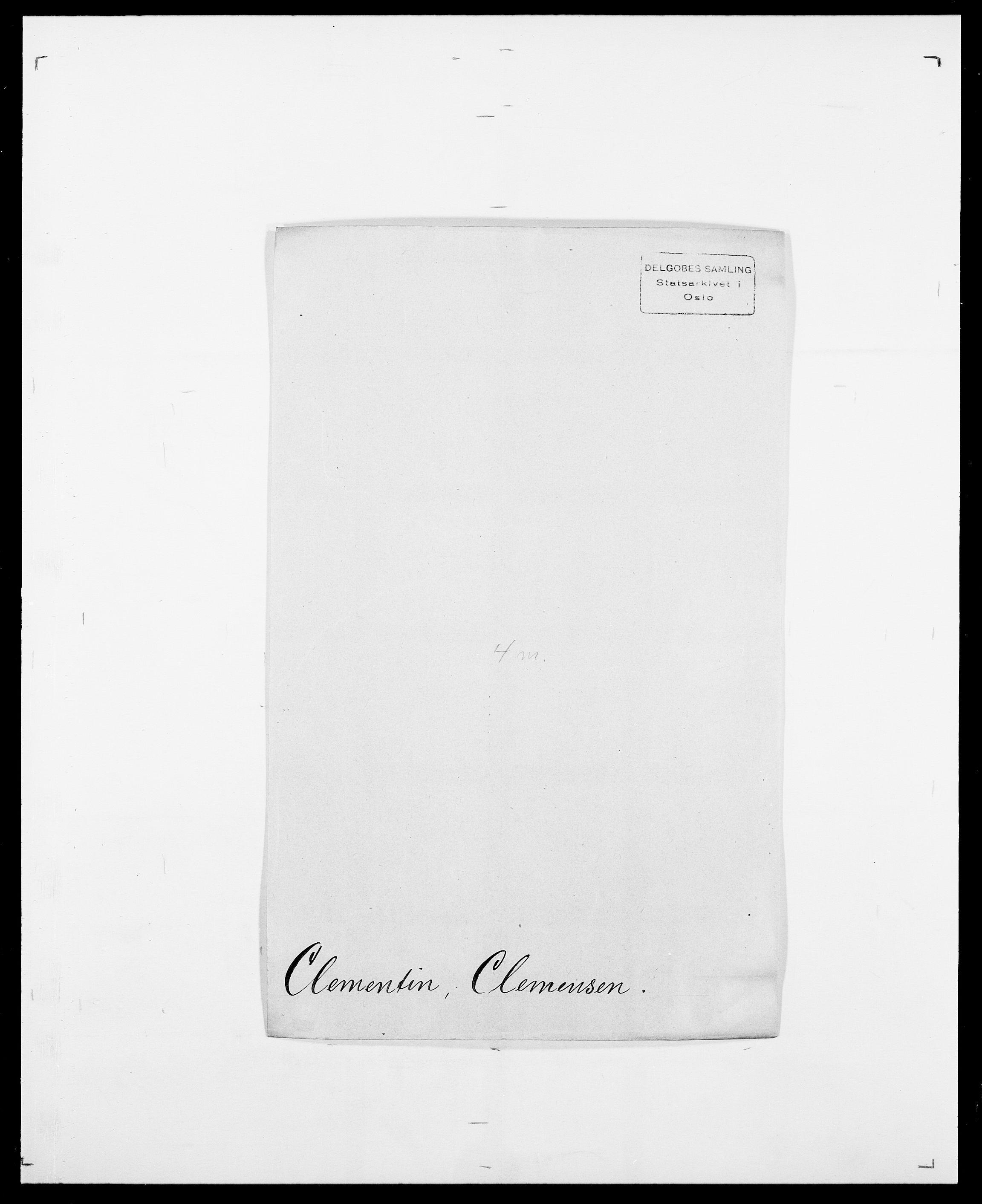 SAO, Delgobe, Charles Antoine - samling, D/Da/L0008: Capjon - Dagenbolt, s. 361