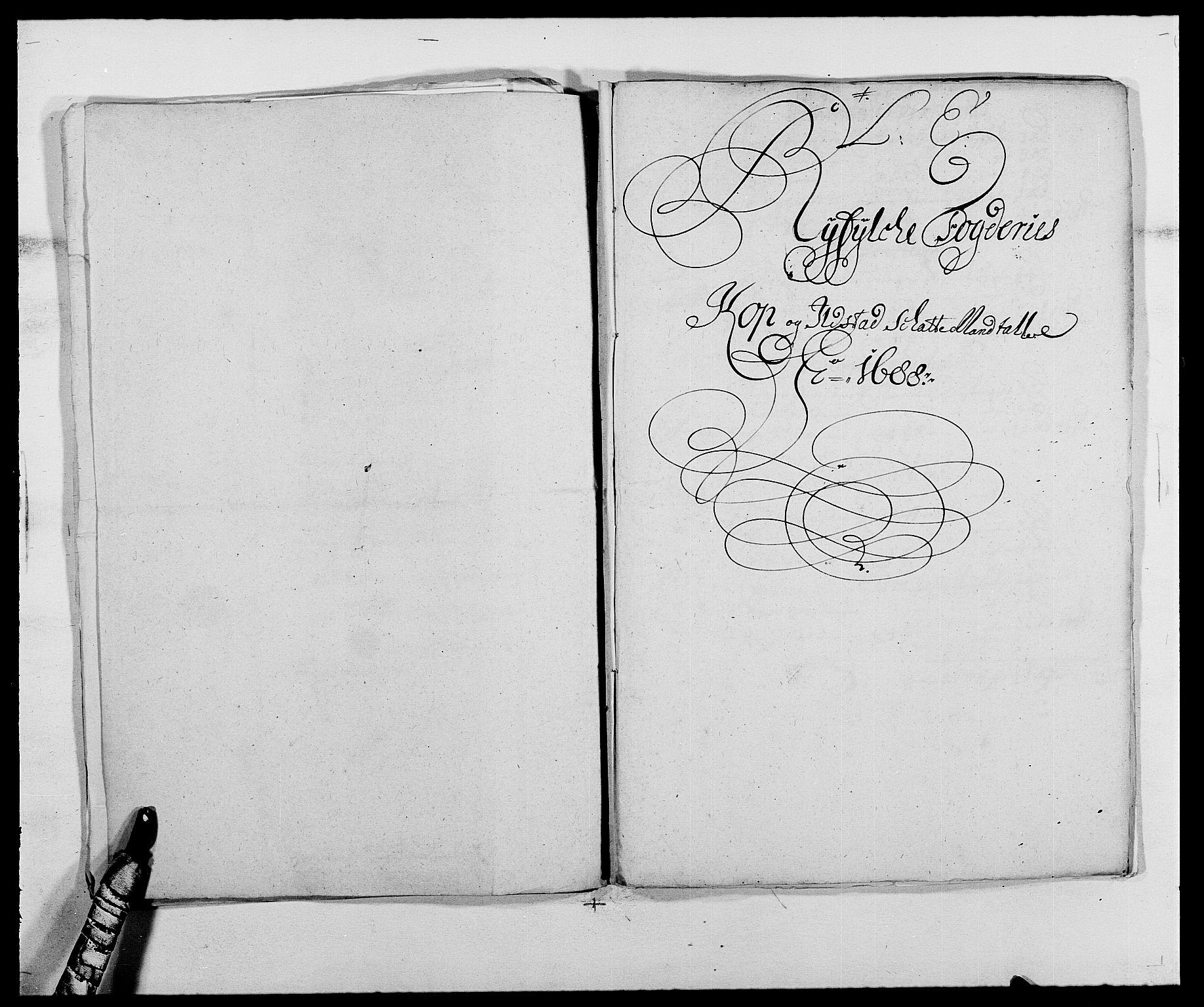 RA, Rentekammeret inntil 1814, Reviderte regnskaper, Fogderegnskap, R47/L2855: Fogderegnskap Ryfylke, 1685-1688, s. 361