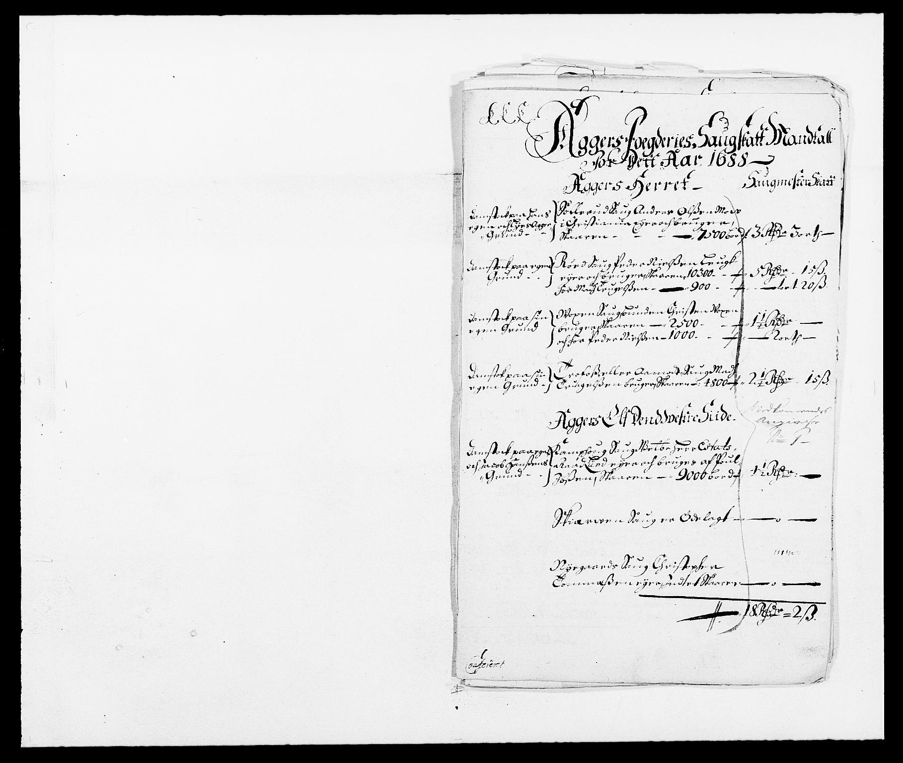 RA, Rentekammeret inntil 1814, Reviderte regnskaper, Fogderegnskap, R08/L0422: Fogderegnskap Aker, 1684-1686, s. 339