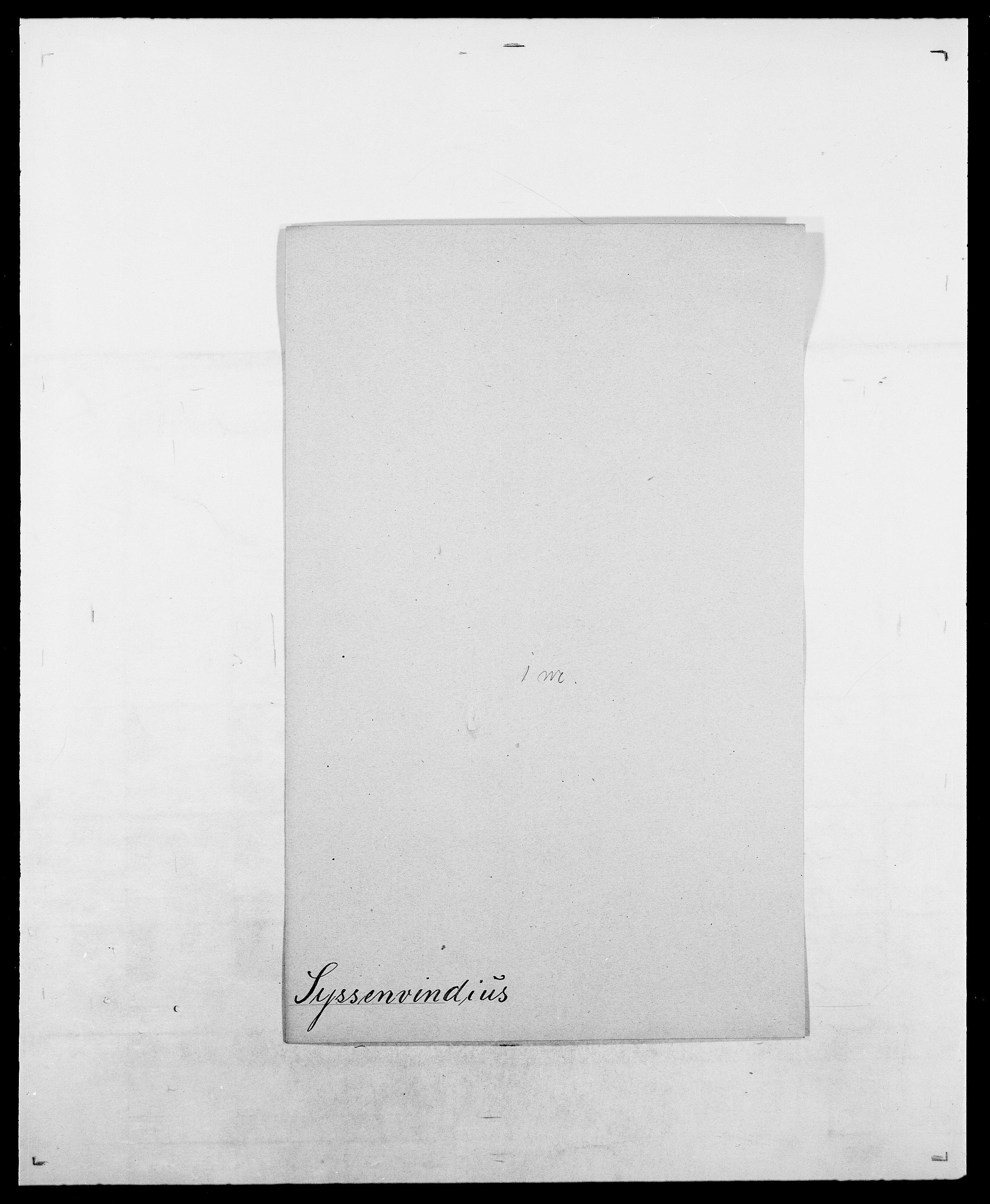 SAO, Delgobe, Charles Antoine - samling, D/Da/L0038: Svanenskjold - Thornsohn, s. 106