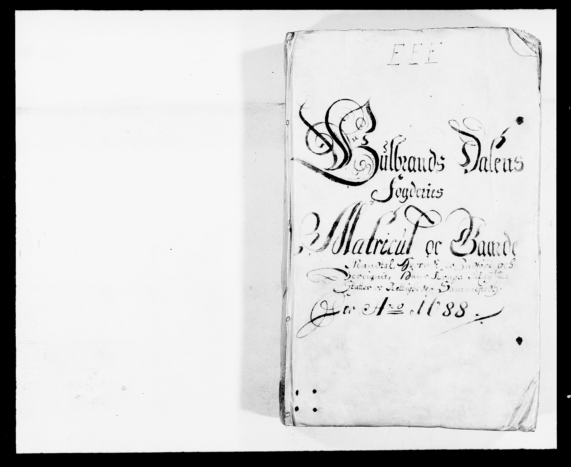 RA, Rentekammeret inntil 1814, Reviderte regnskaper, Fogderegnskap, R17/L1163: Fogderegnskap Gudbrandsdal, 1682-1689, s. 78