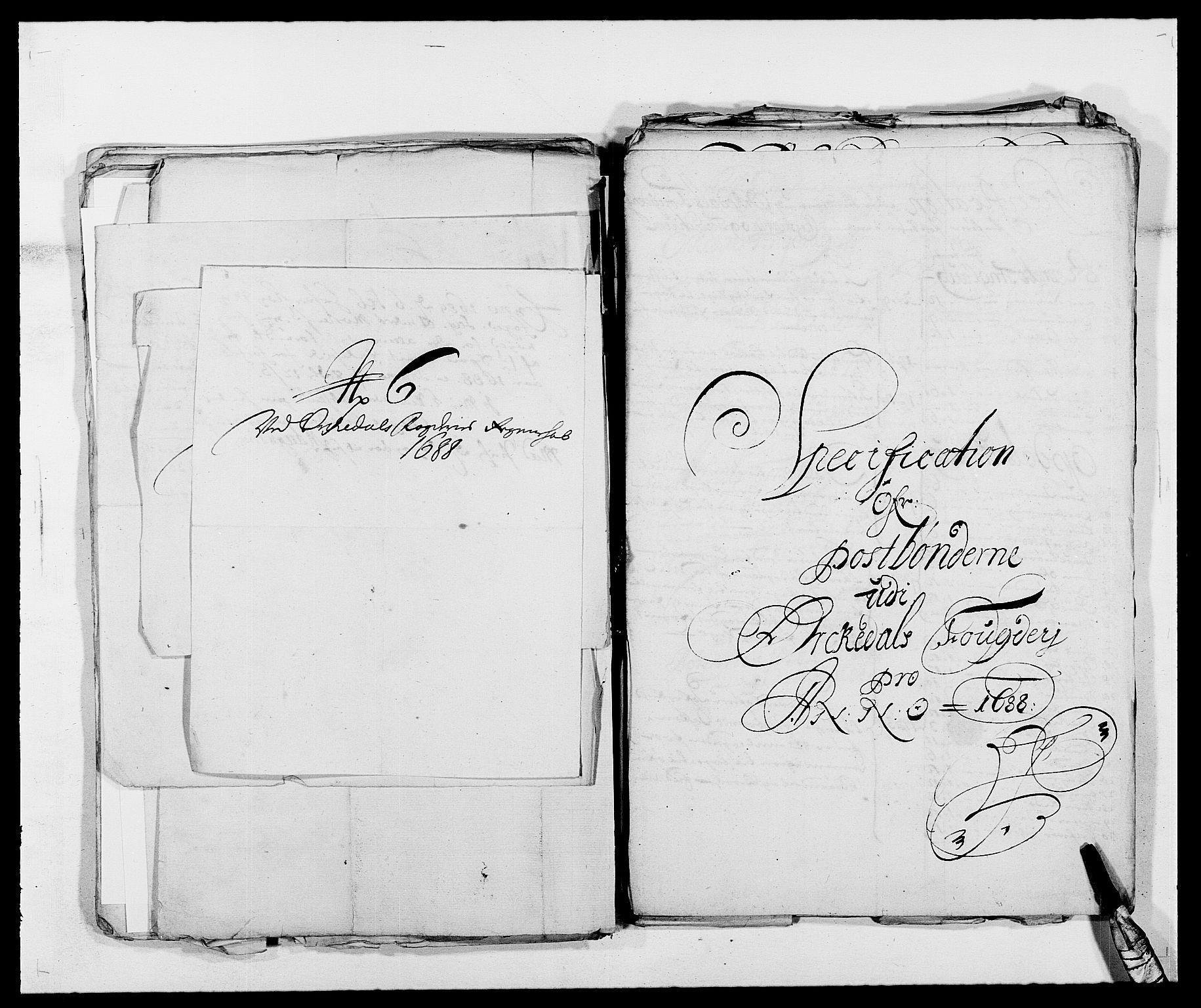 RA, Rentekammeret inntil 1814, Reviderte regnskaper, Fogderegnskap, R58/L3935: Fogderegnskap Orkdal, 1687-1688, s. 367