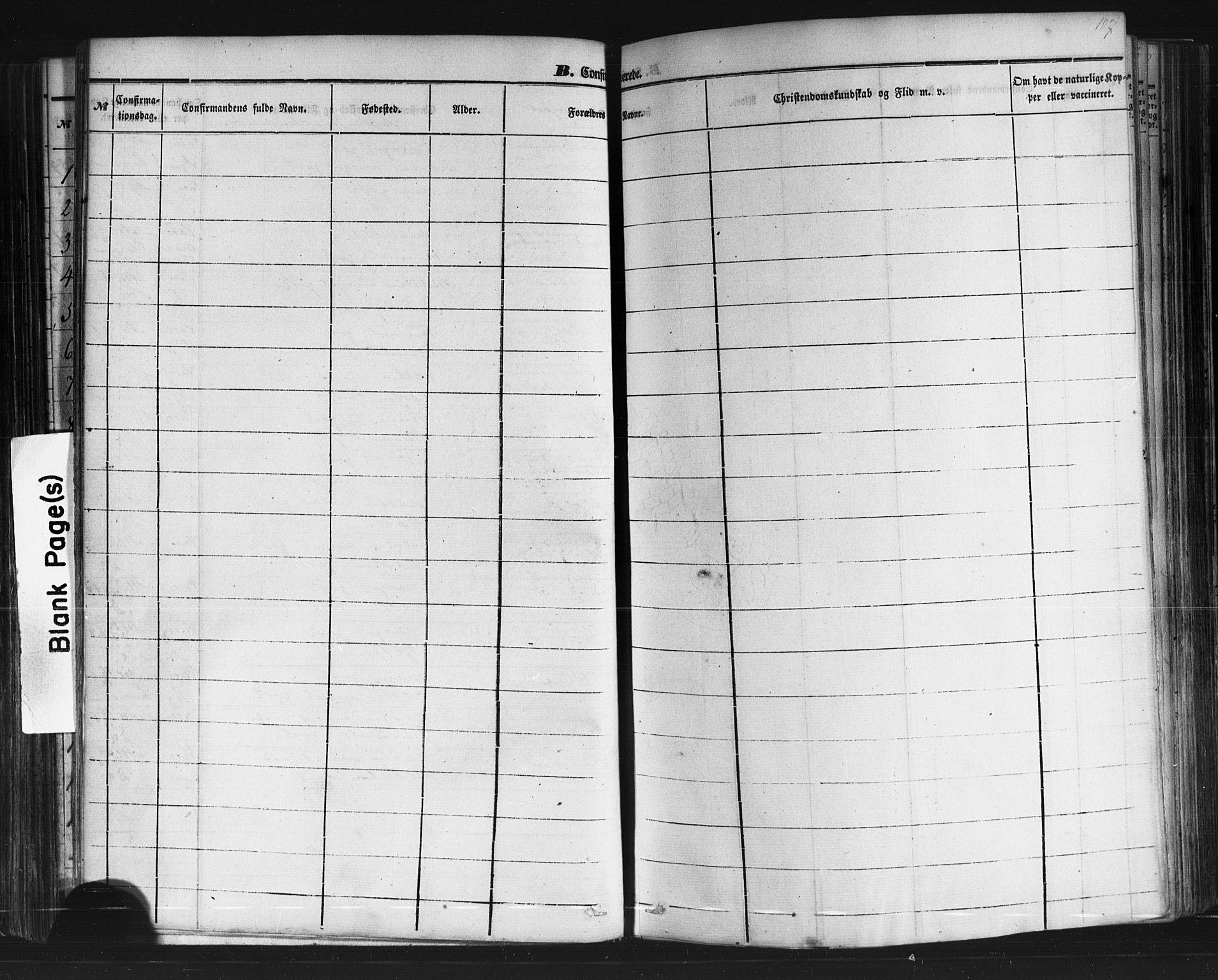 SAKO, Sauherad kirkebøker, F/Fb/L0001: Ministerialbok nr. II 1, 1851-1877, s. 107