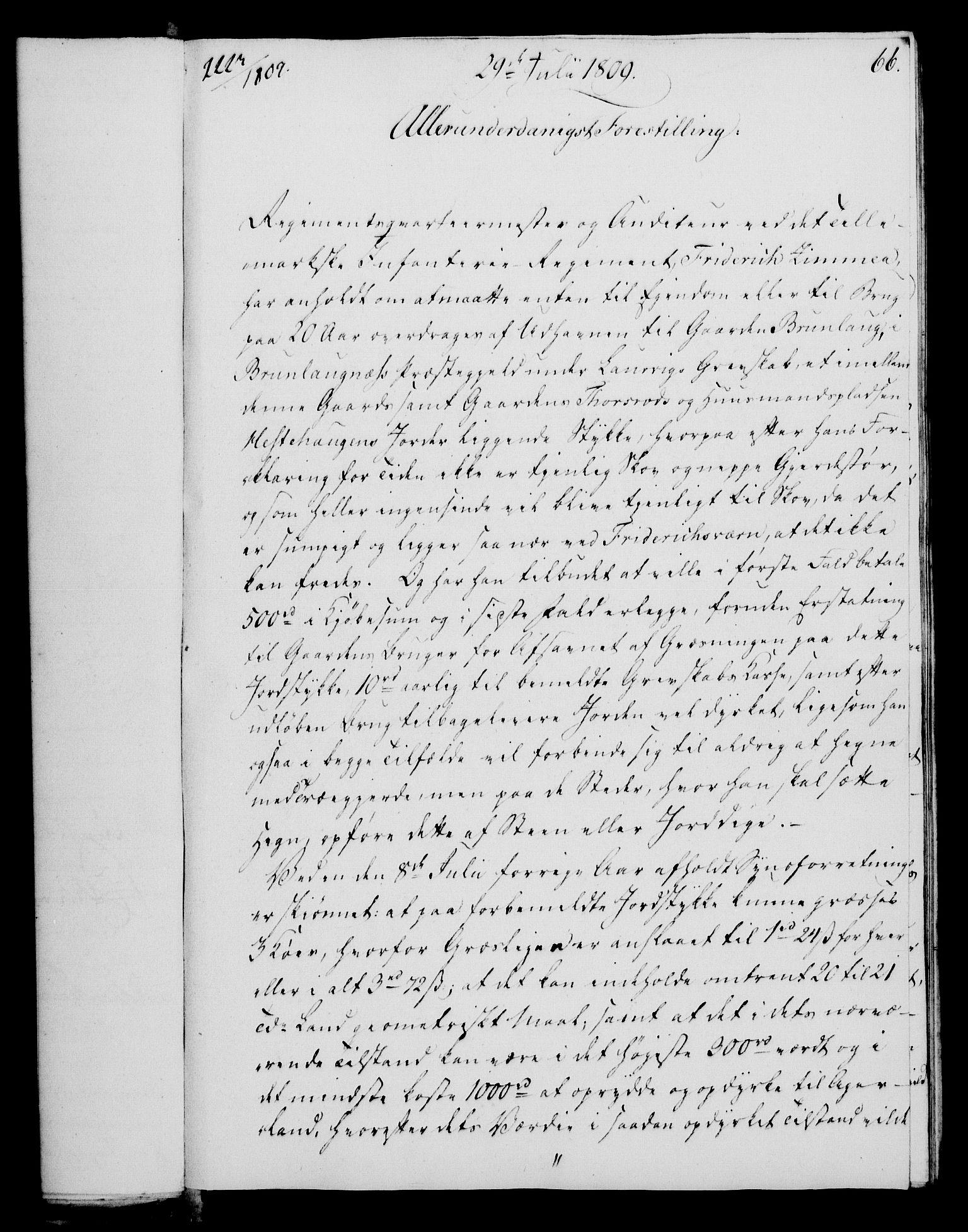 RA, Rentekammeret, Kammerkanselliet, G/Gf/Gfa/L0091: Norsk relasjons- og resolusjonsprotokoll (merket RK 52.91), 1809, s. 272