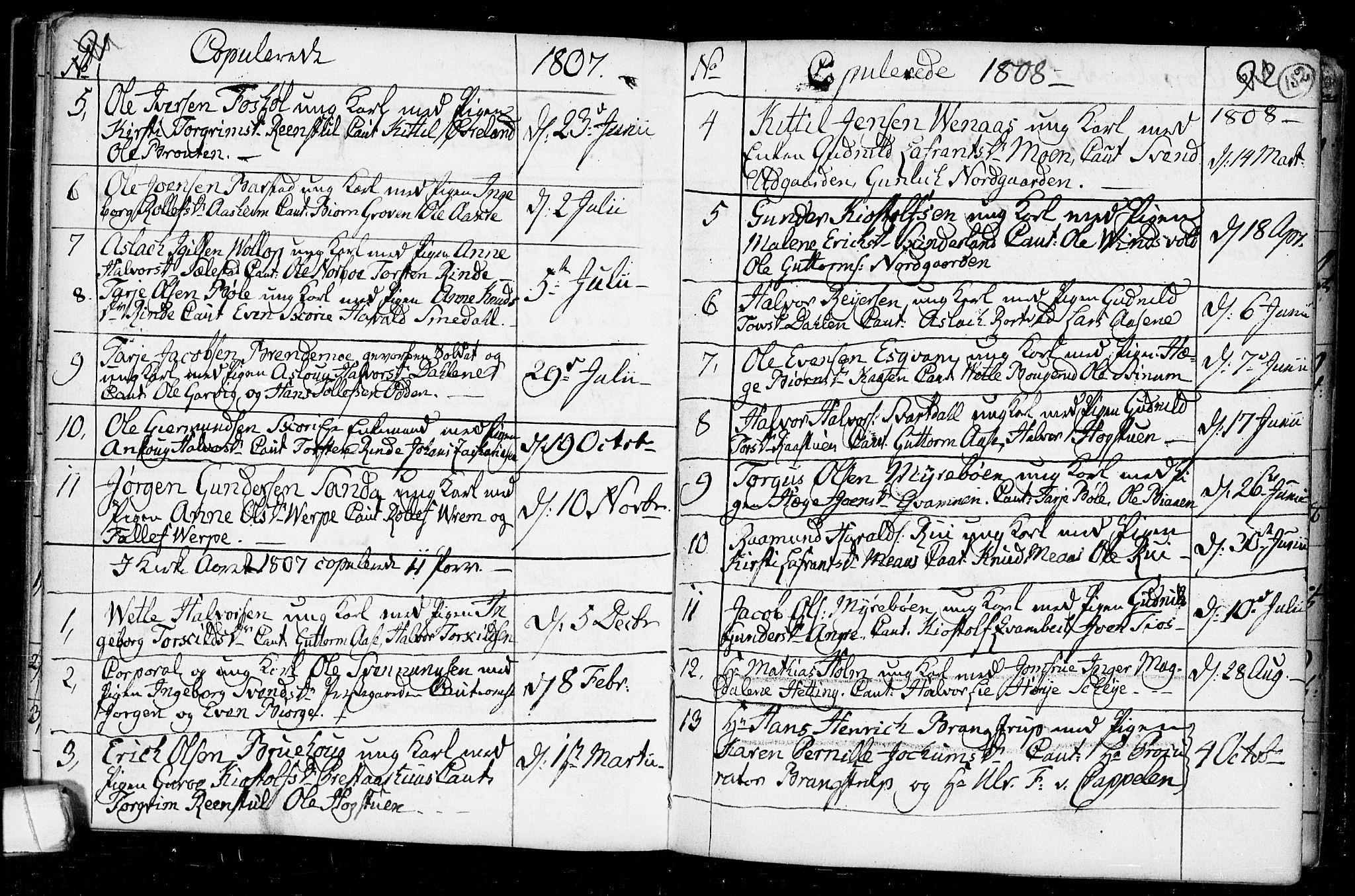 SAKO, Seljord kirkebøker, F/Fa/L0008: Ministerialbok nr. I 8, 1755-1814, s. 152