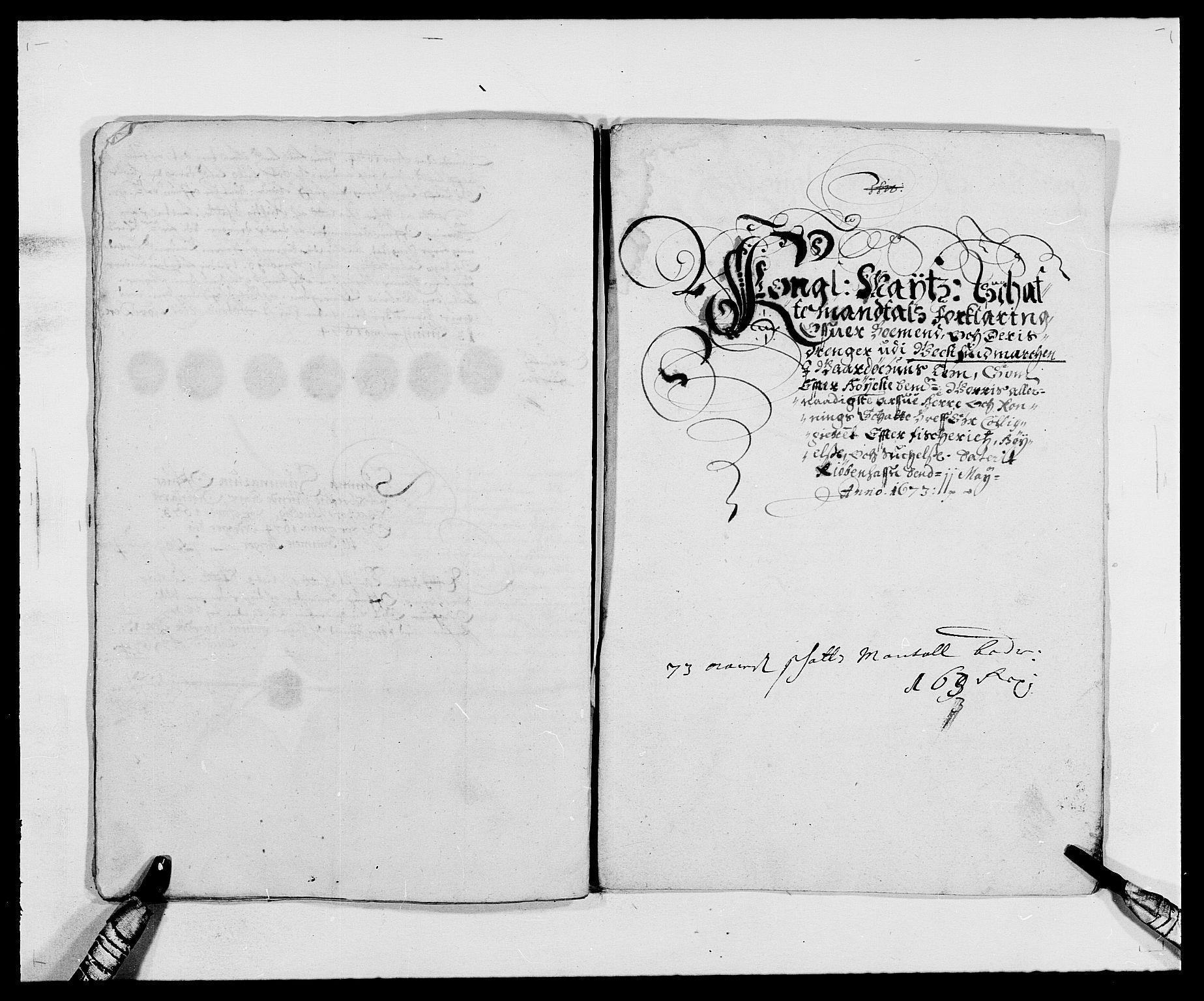 RA, Rentekammeret inntil 1814, Reviderte regnskaper, Fogderegnskap, R69/L4849: Fogderegnskap Finnmark/Vardøhus, 1661-1679, s. 291