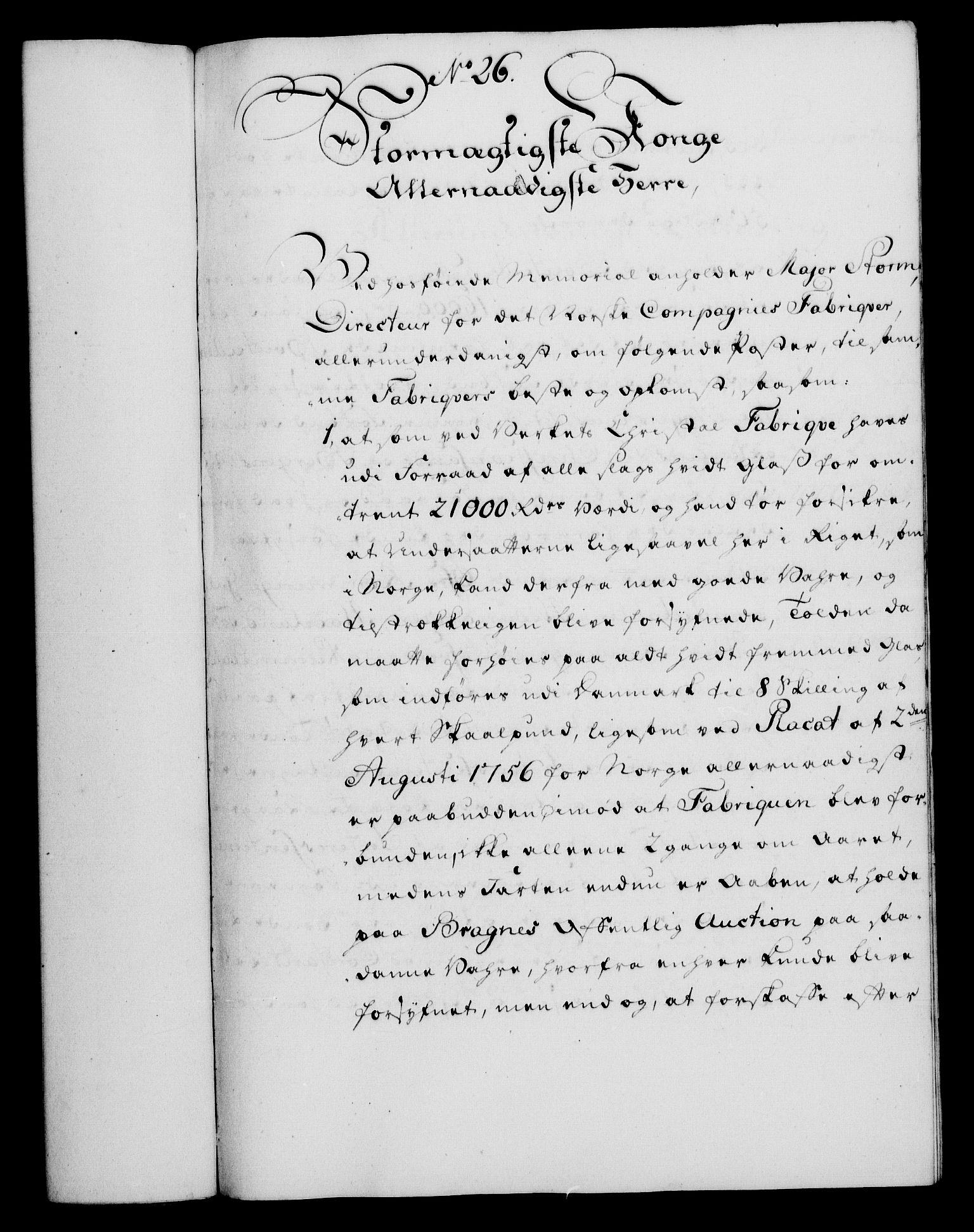 RA, Rentekammeret, Kammerkanselliet, G/Gf/Gfa/L0039: Norsk relasjons- og resolusjonsprotokoll (merket RK 52.39), 1757, s. 178