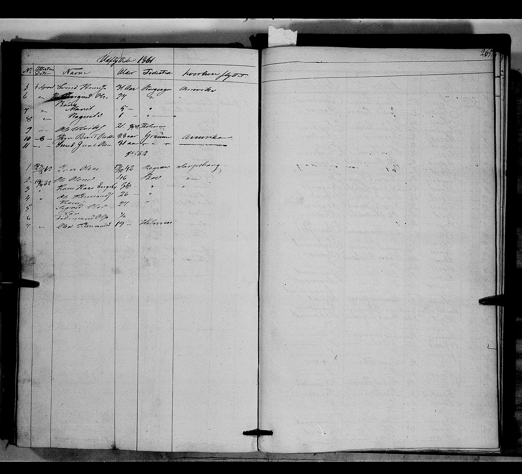 SAH, Nord-Aurdal prestekontor, Ministerialbok nr. 6, 1842-1863, s. 265