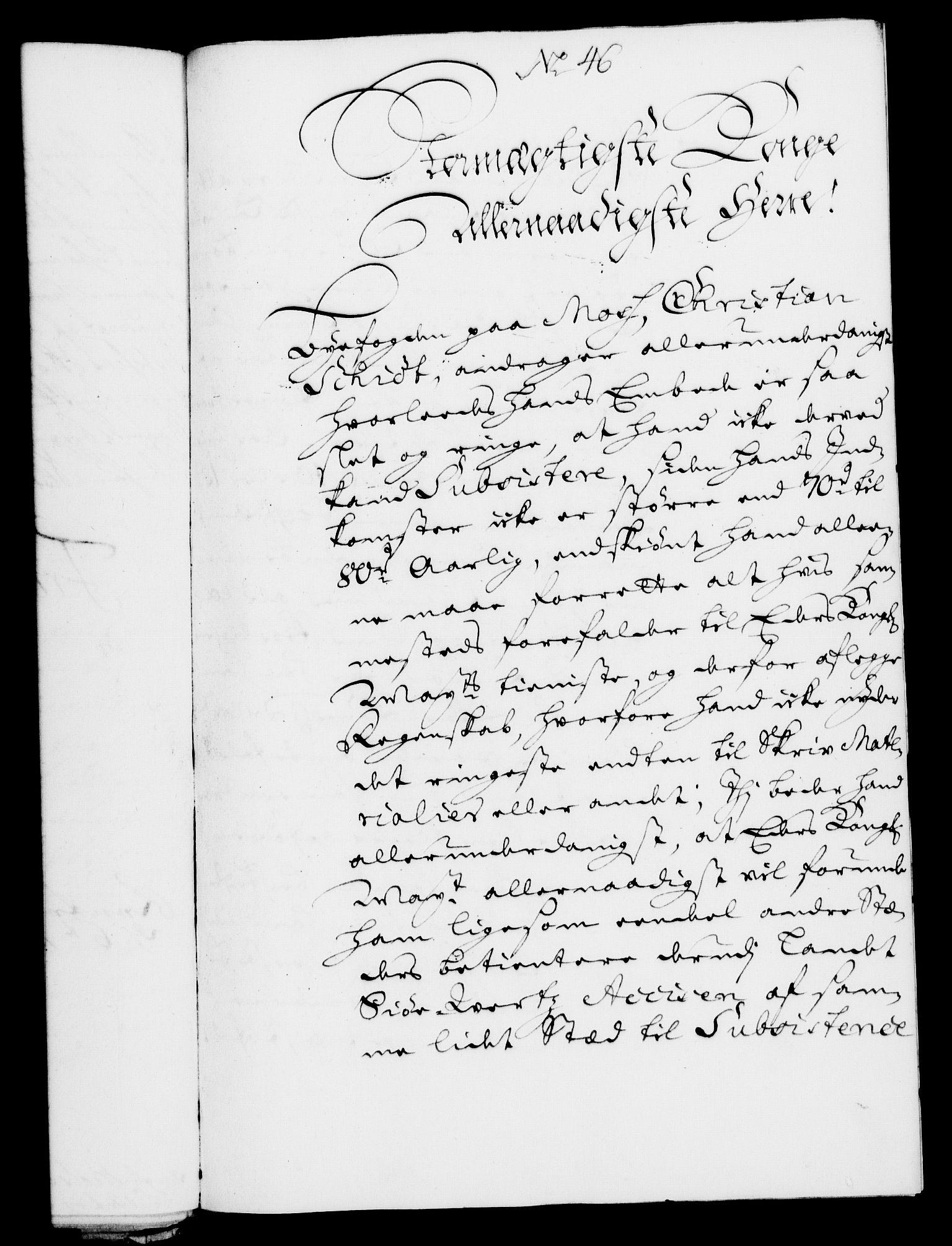 RA, Rentekammeret, Kammerkanselliet, G/Gf/Gfa/L0007: Norsk relasjons- og resolusjonsprotokoll (merket RK 52.7), 1724, s. 284
