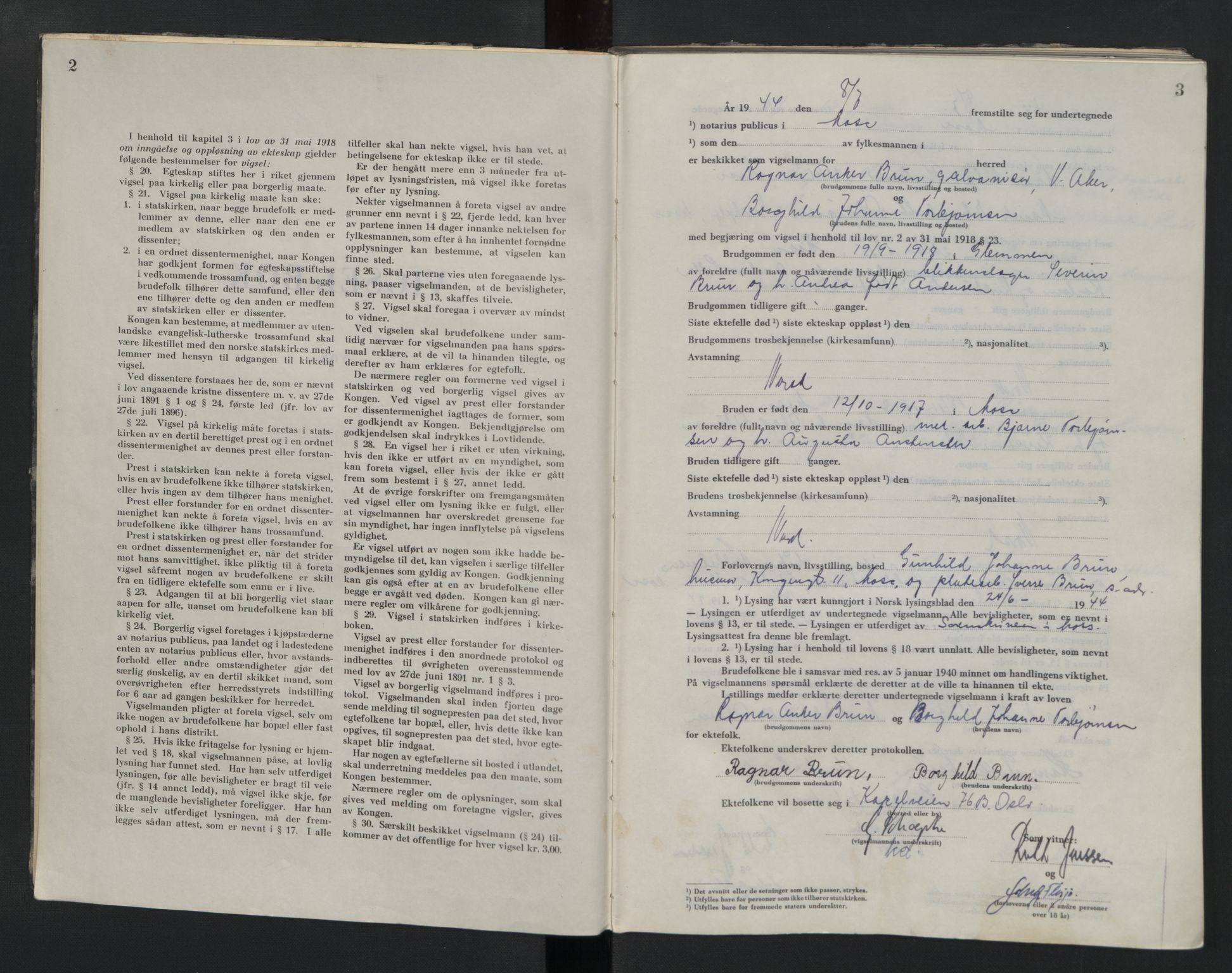 SAO, Moss sorenskriveri, 1944-1945, s. 2-3