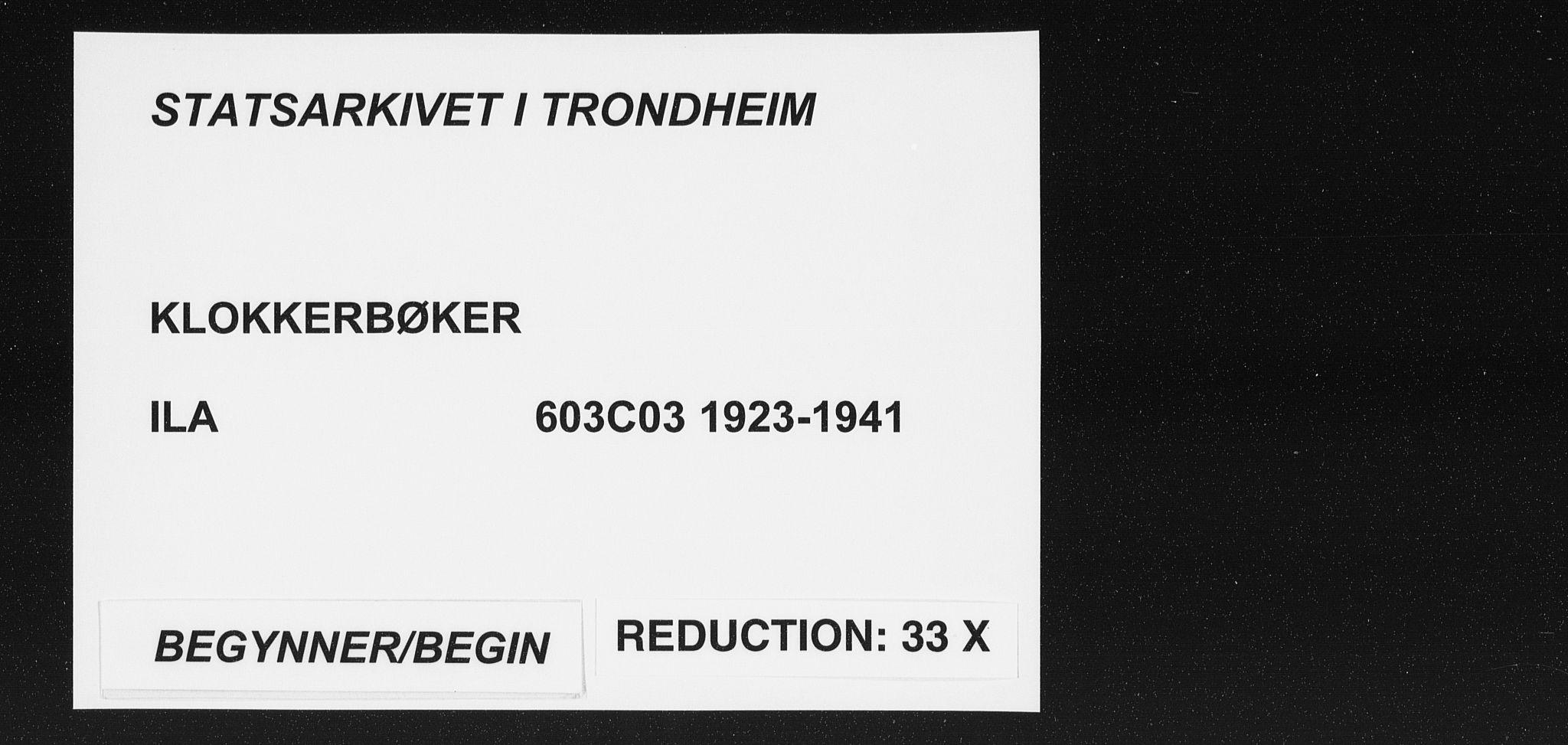 SAT, Ministerialprotokoller, klokkerbøker og fødselsregistre - Sør-Trøndelag, 603/L0175: Klokkerbok nr. 603C03, 1923-1941