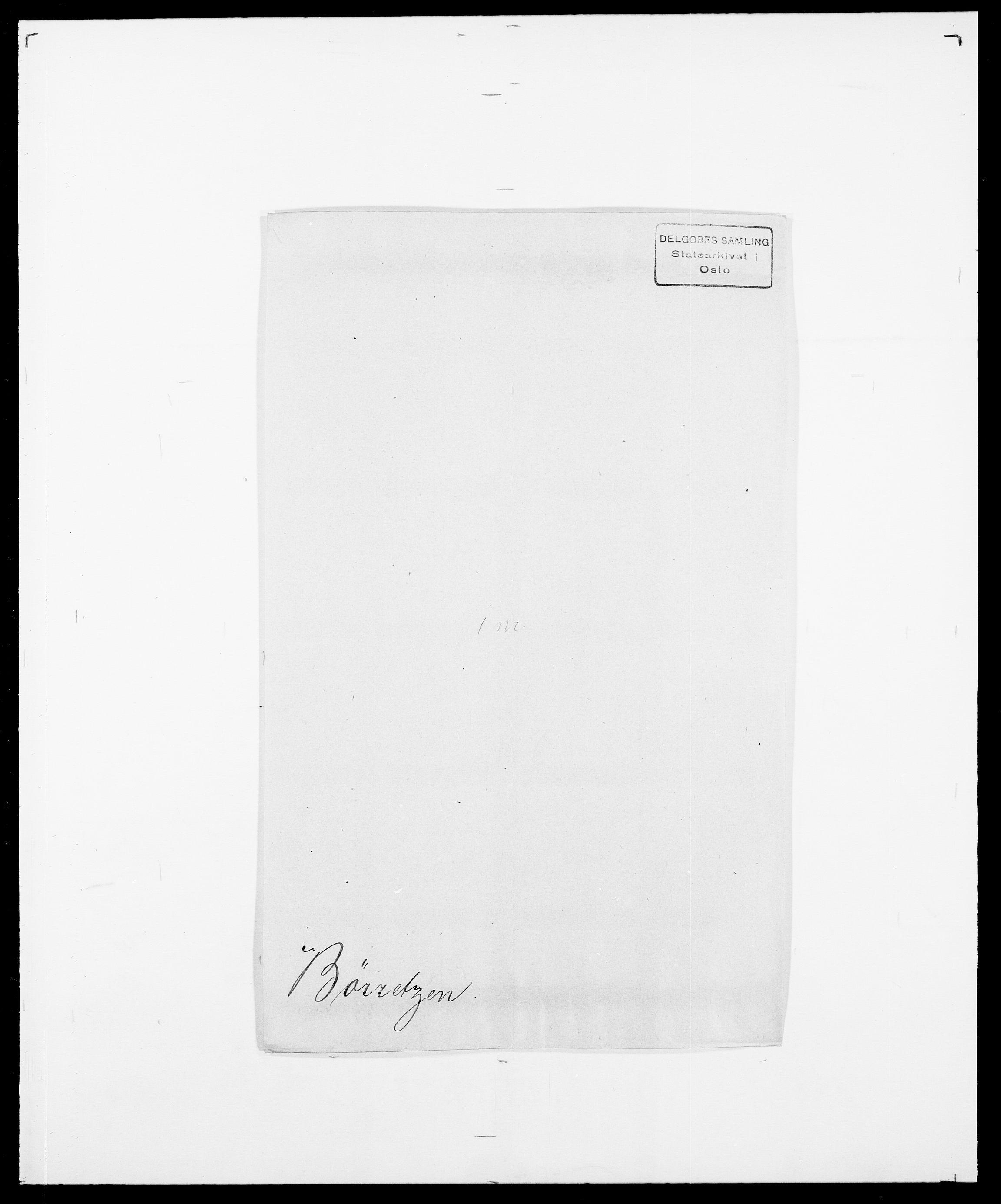 SAO, Delgobe, Charles Antoine - samling, D/Da/L0007: Buaas - Caphengst, s. 779