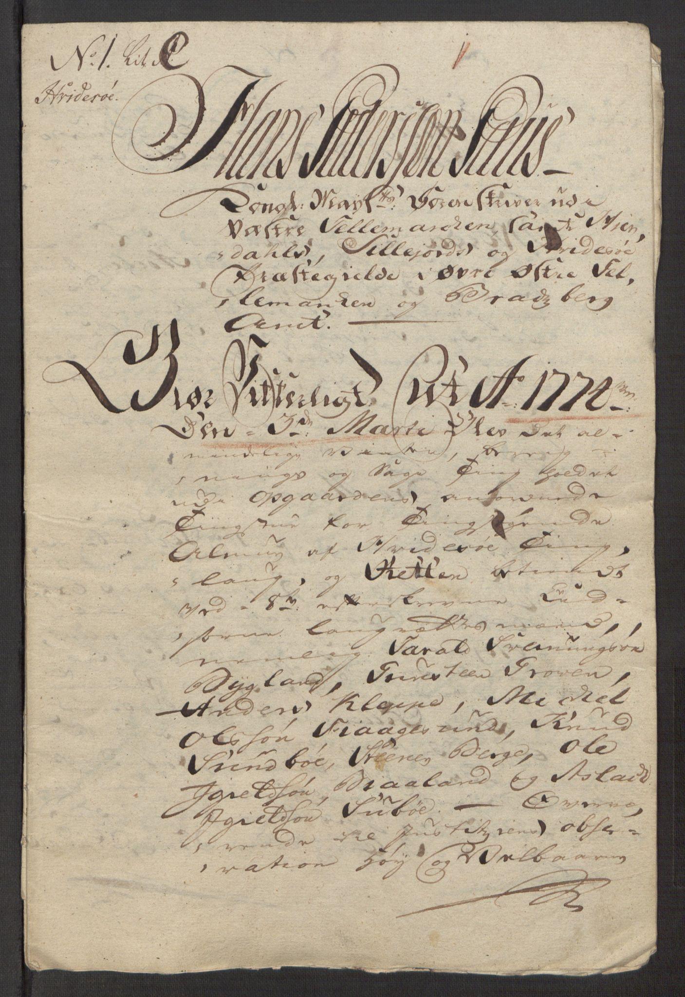 RA, Rentekammeret inntil 1814, Reviderte regnskaper, Fogderegnskap, R38/L2293: Ekstraskatten Øvre Telemark, 1762-1770, s. 150