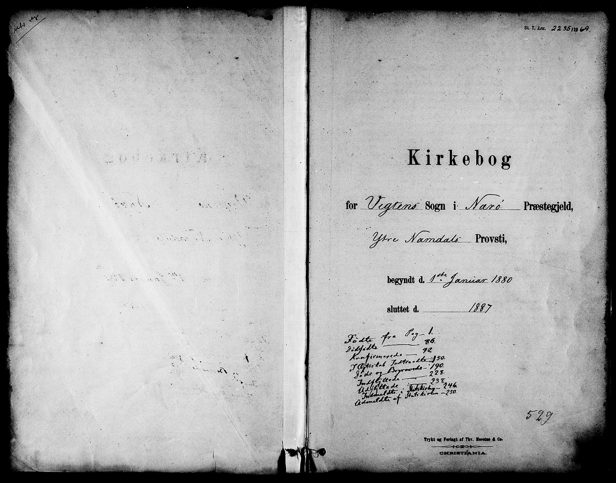 SAT, Ministerialprotokoller, klokkerbøker og fødselsregistre - Nord-Trøndelag, 786/L0686: Ministerialbok nr. 786A02, 1880-1887