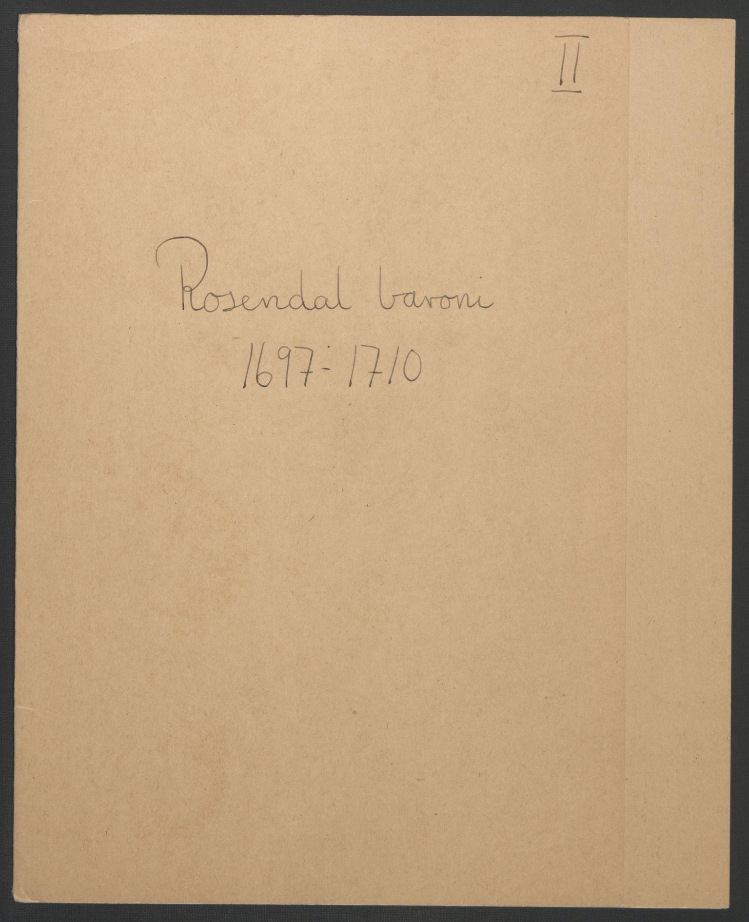 RA, Rentekammeret inntil 1814, Reviderte regnskaper, Fogderegnskap, R49/L3138: Fogderegnskap Rosendal Baroni, 1691-1714, s. 54