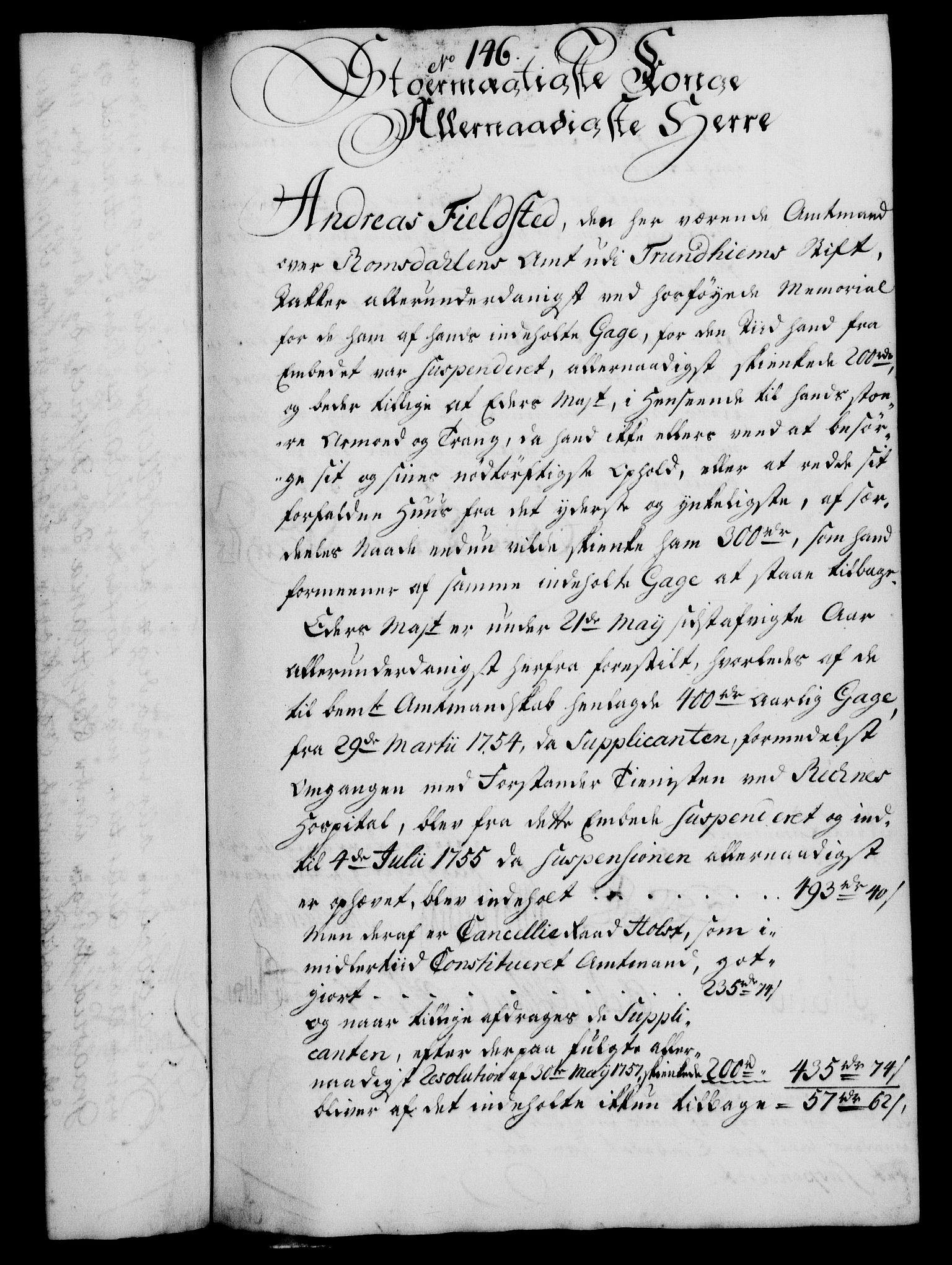 RA, Rentekammeret, Kammerkanselliet, G/Gf/Gfa/L0040: Norsk relasjons- og resolusjonsprotokoll (merket RK 52.40), 1758, s. 762