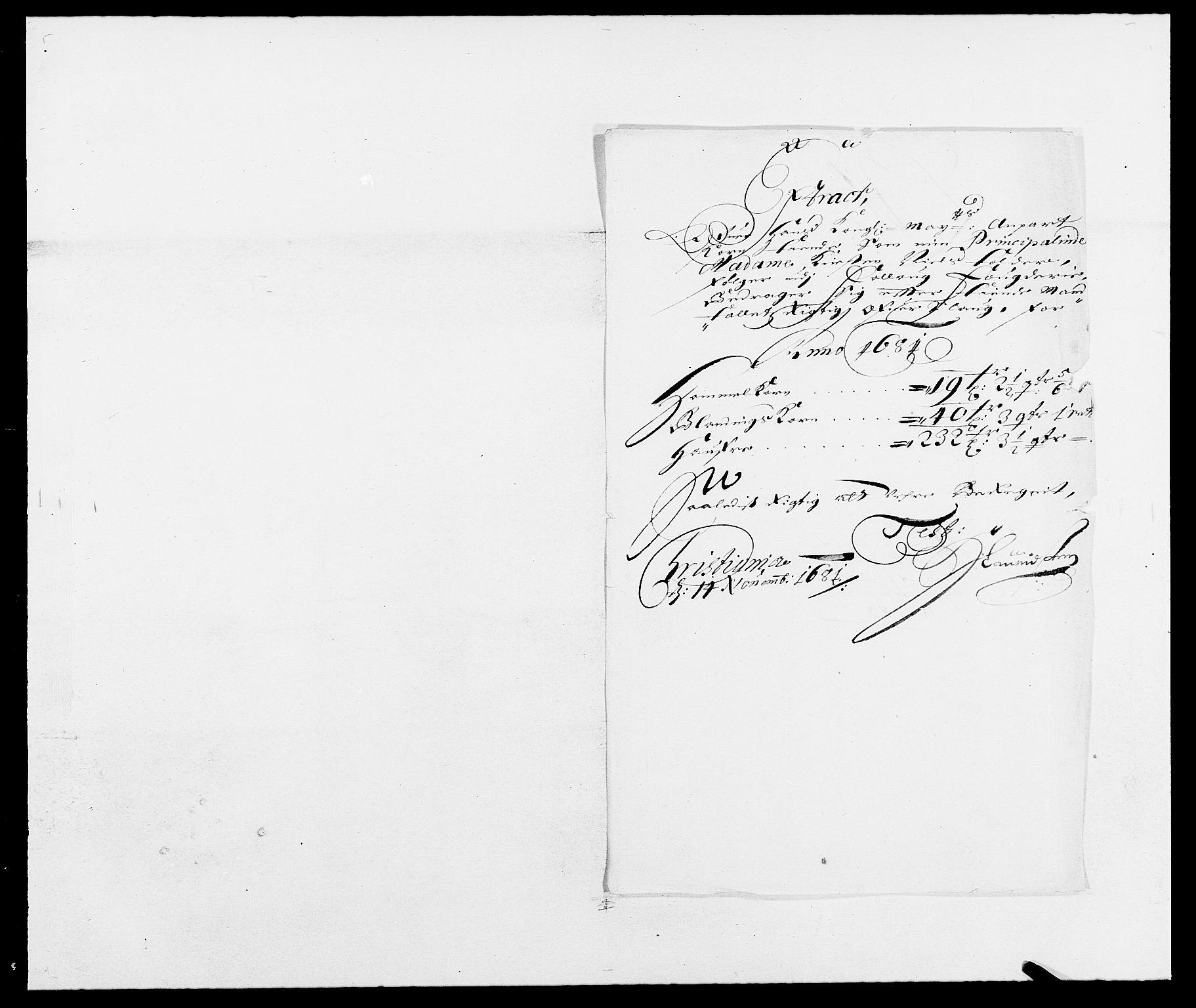 RA, Rentekammeret inntil 1814, Reviderte regnskaper, Fogderegnskap, R09/L0429: Fogderegnskap Follo, 1680-1681, s. 379