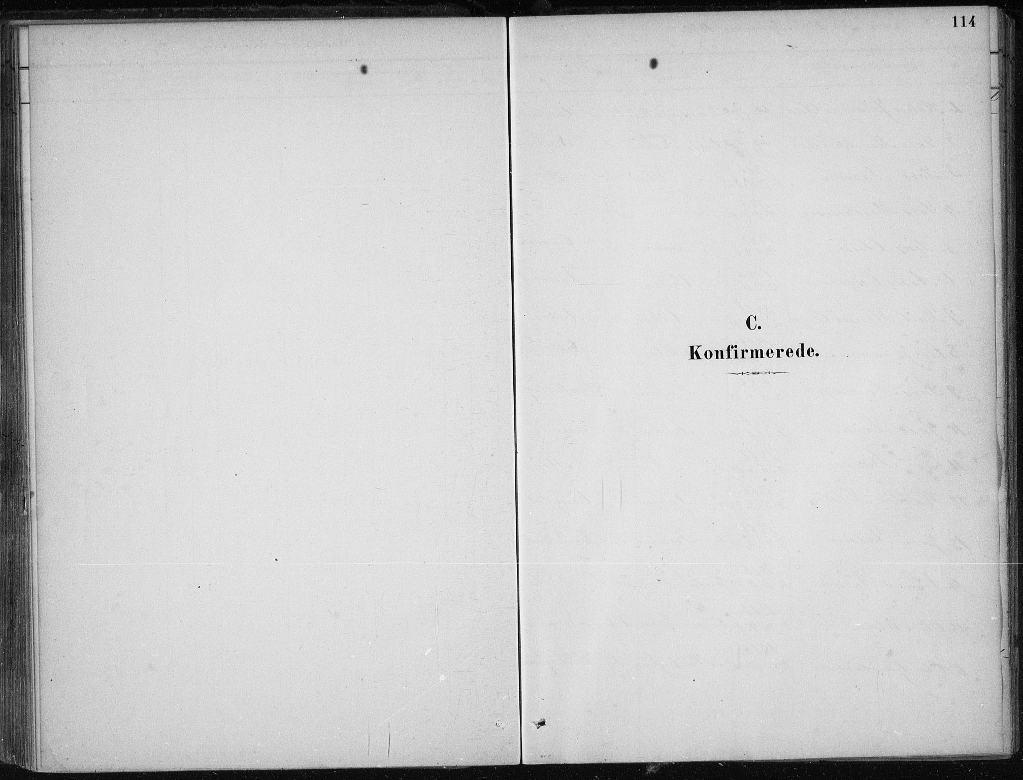 SAB, Kvam Sokneprestembete, H/Haa: Ministerialbok nr. B  1, 1880-1908, s. 114