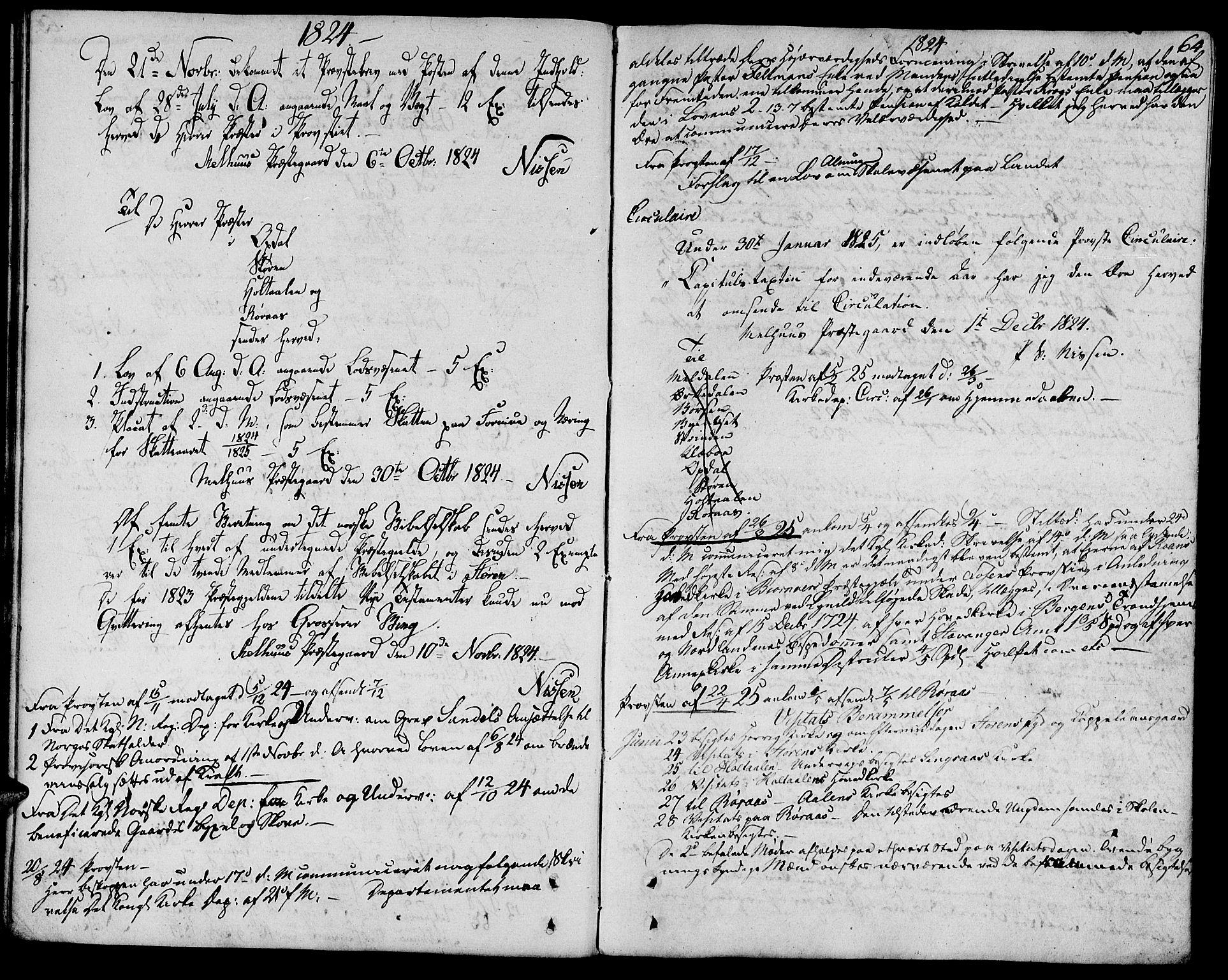 SAT, Ministerialprotokoller, klokkerbøker og fødselsregistre - Sør-Trøndelag, 685/L0953: Ministerialbok nr. 685A02, 1805-1816, s. 64