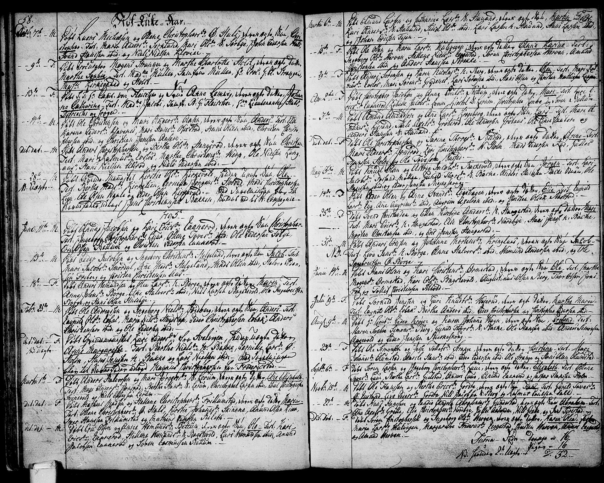 SAKO, Våle kirkebøker, F/Fa/L0005: Ministerialbok nr. I 5, 1773-1808, s. 58-59