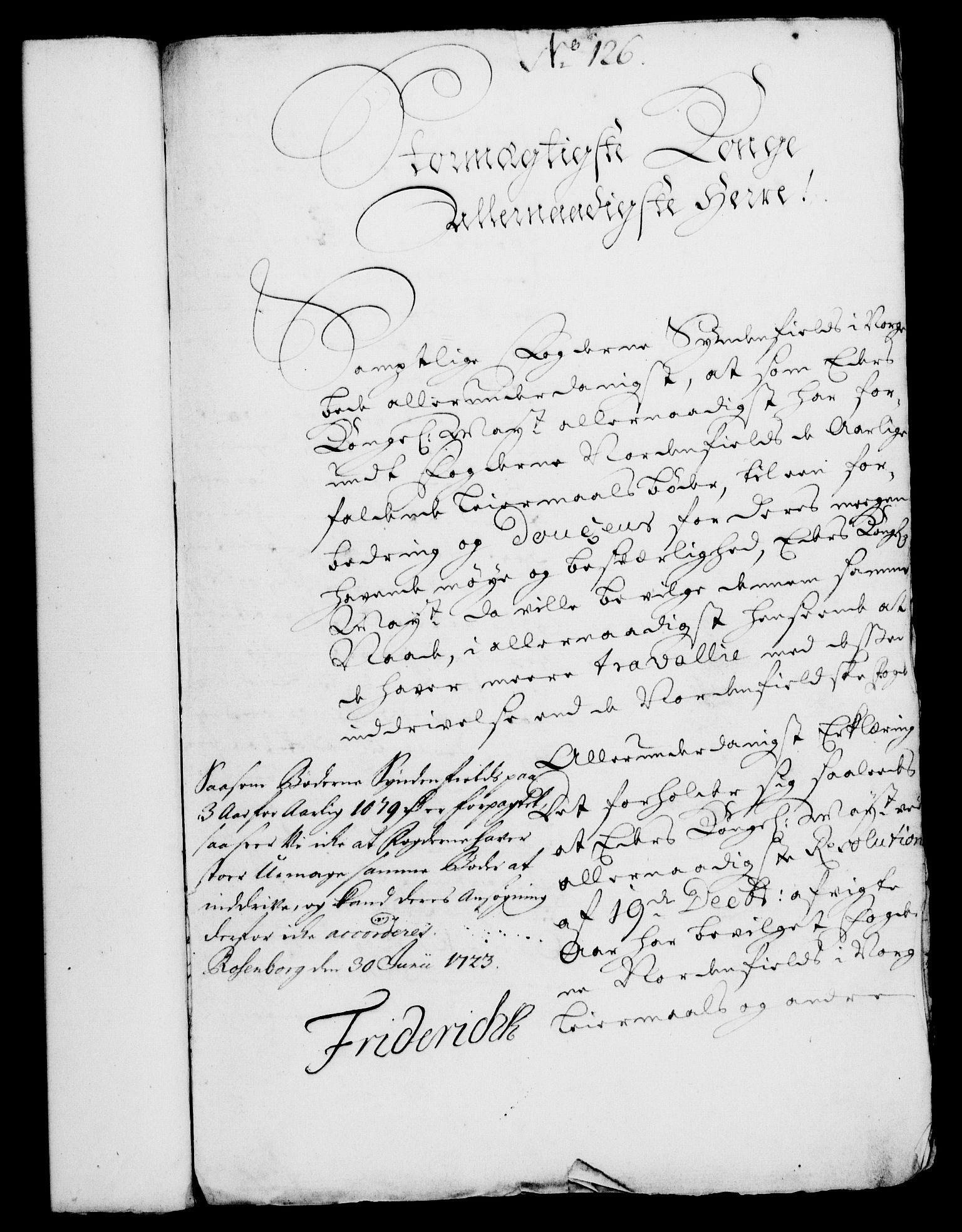 RA, Rentekammeret, Kammerkanselliet, G/Gf/Gfa/L0006: Norsk relasjons- og resolusjonsprotokoll (merket RK 52.6), 1723, s. 792