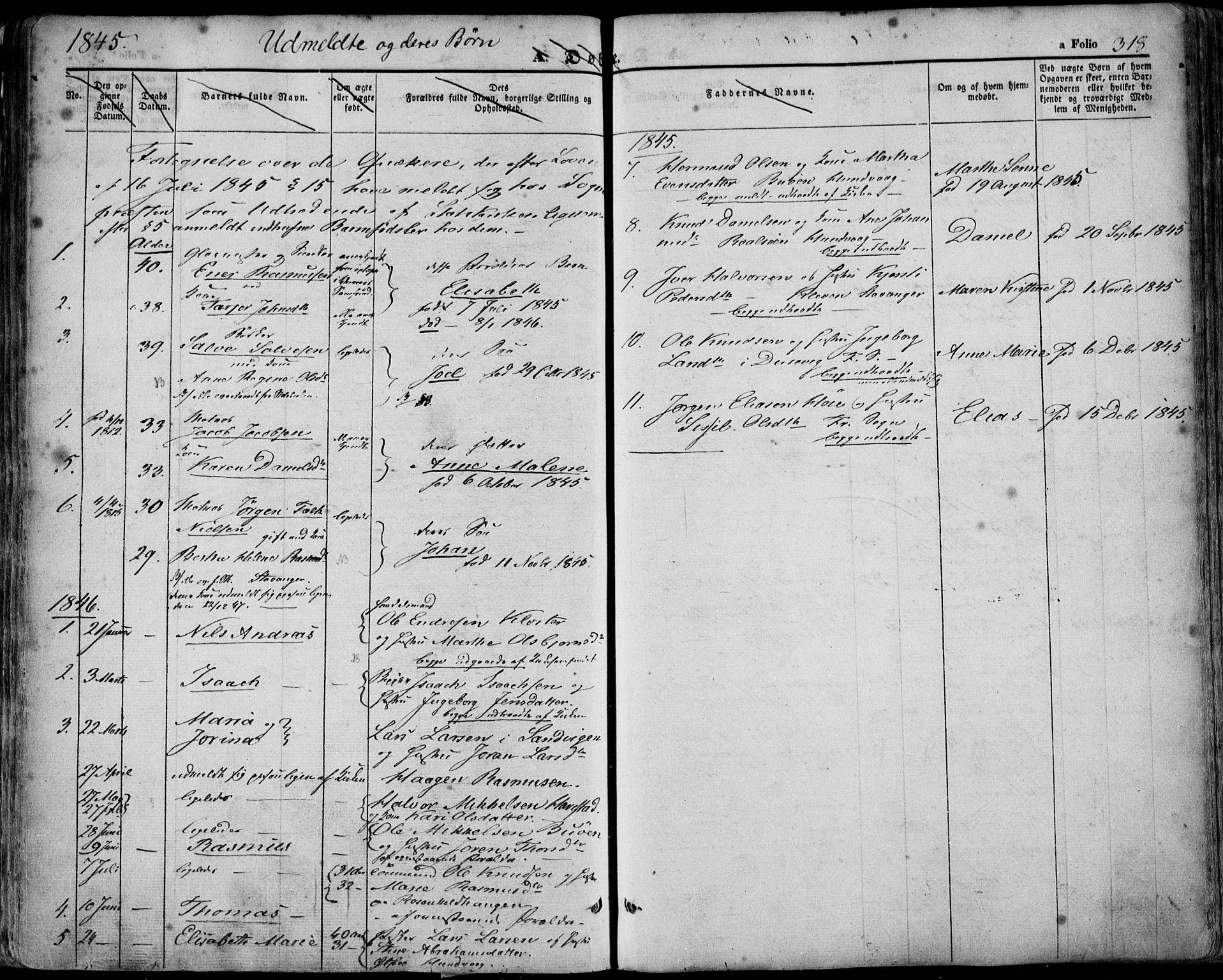 SAST, Domkirken sokneprestkontor, 30/30BA/L0016: Ministerialbok nr. A 15, 1844-1854, s. 318