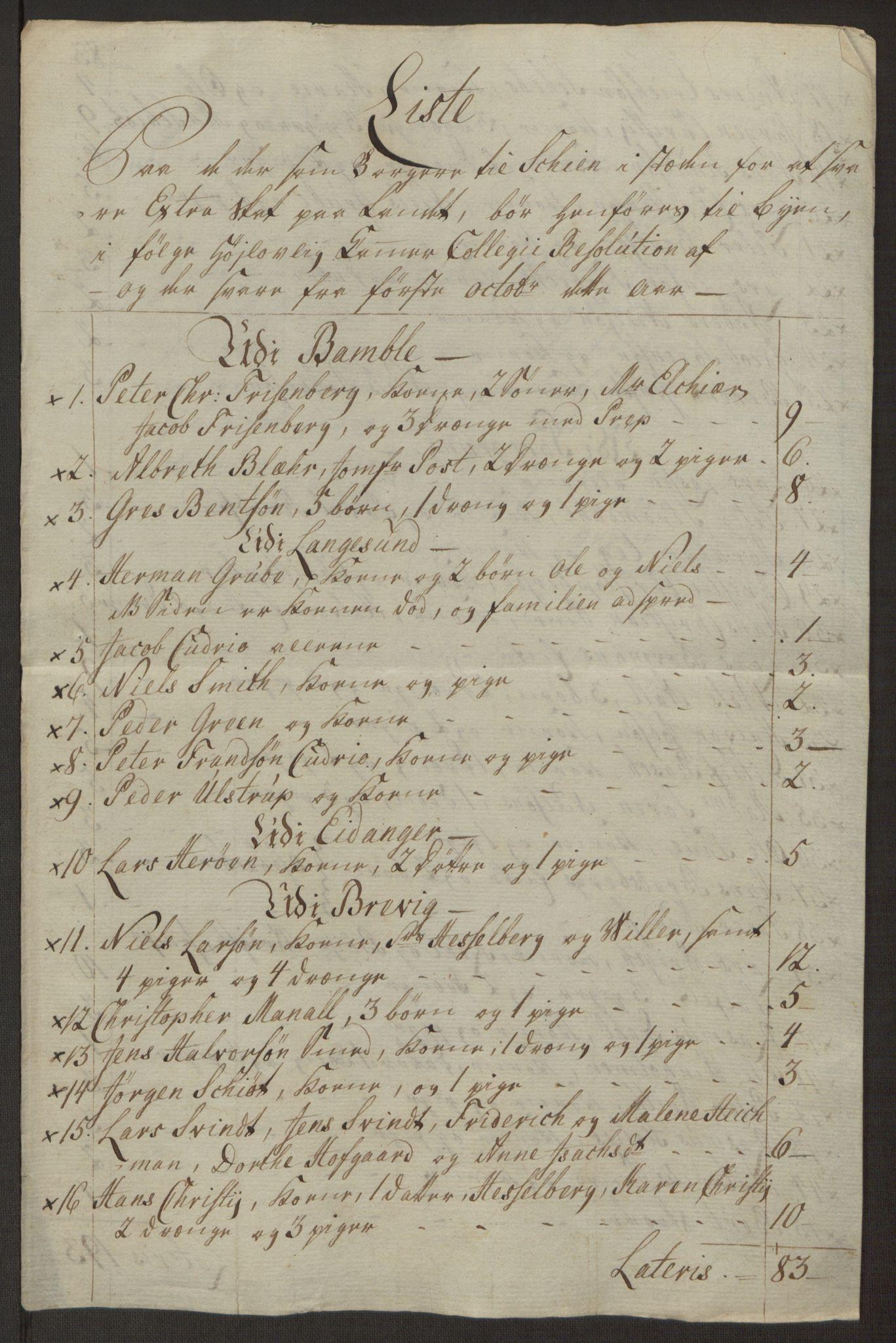 RA, Rentekammeret inntil 1814, Reviderte regnskaper, Byregnskaper, R/Rj/L0198: [J4] Kontribusjonsregnskap, 1762-1768, s. 464