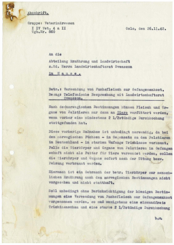 RA, Tyske arkiver, Reichskommissariat, E/Ec/Ecf/L0024: Skriv, forordninger og sirkulærer, 1940-1945, s. 1