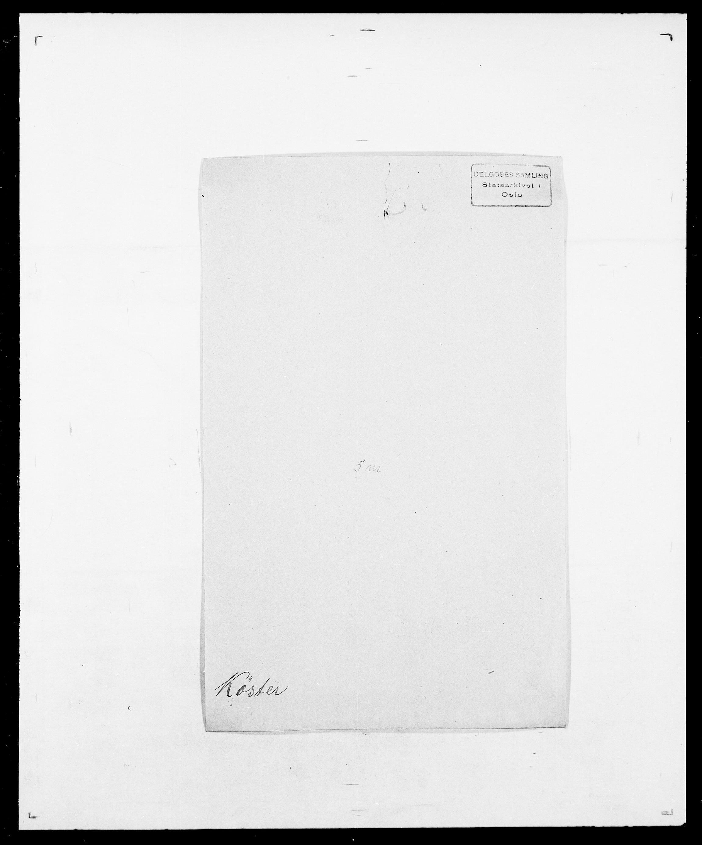 SAO, Delgobe, Charles Antoine - samling, D/Da/L0022: Krog - Lasteen, s. 339