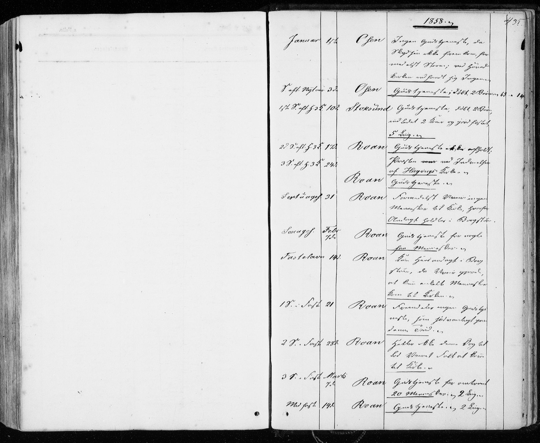 SAT, Ministerialprotokoller, klokkerbøker og fødselsregistre - Sør-Trøndelag, 657/L0705: Ministerialbok nr. 657A06, 1858-1867, s. 435