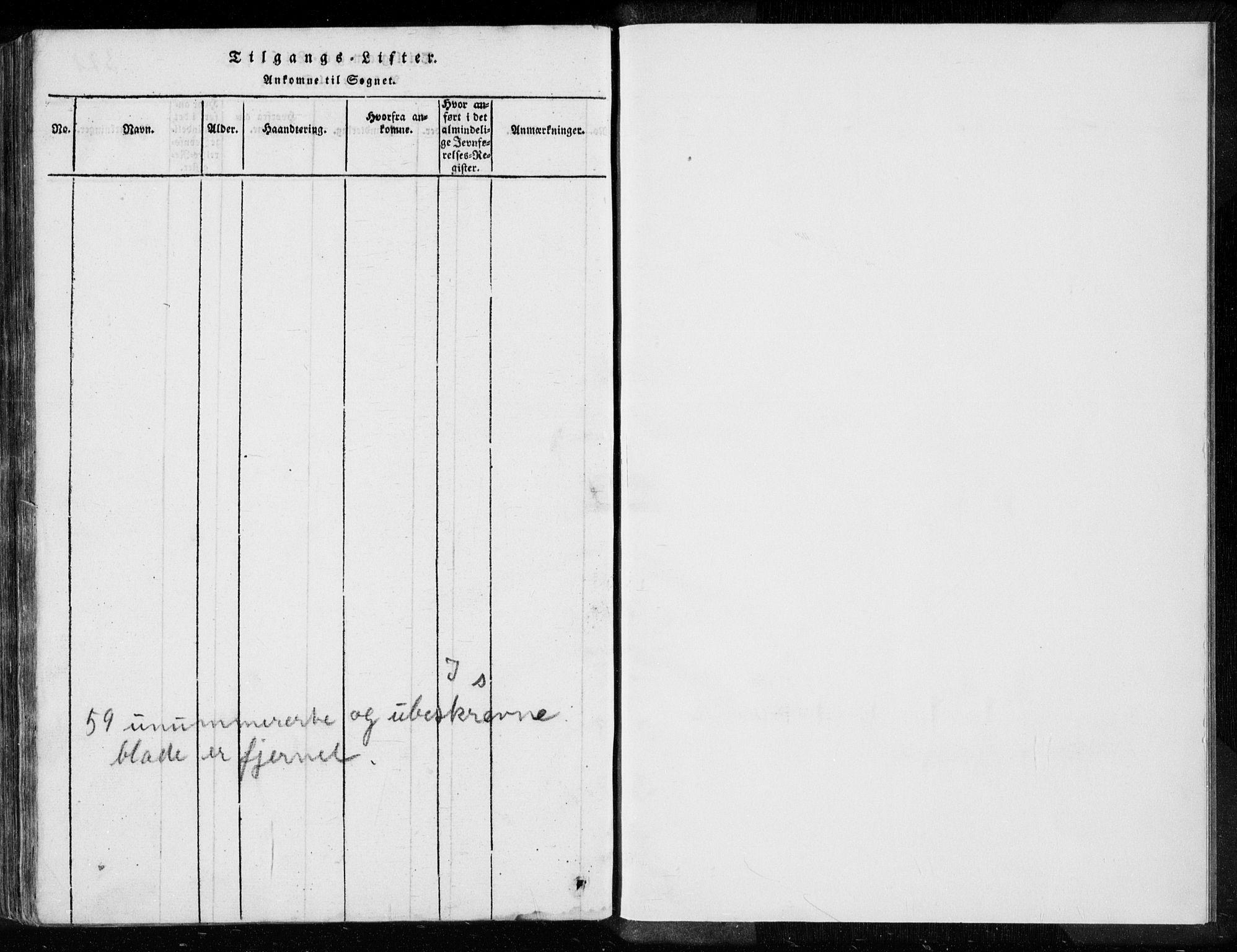 SAST, Egersund sokneprestkontor, Ministerialbok nr. A 8, 1816-1847