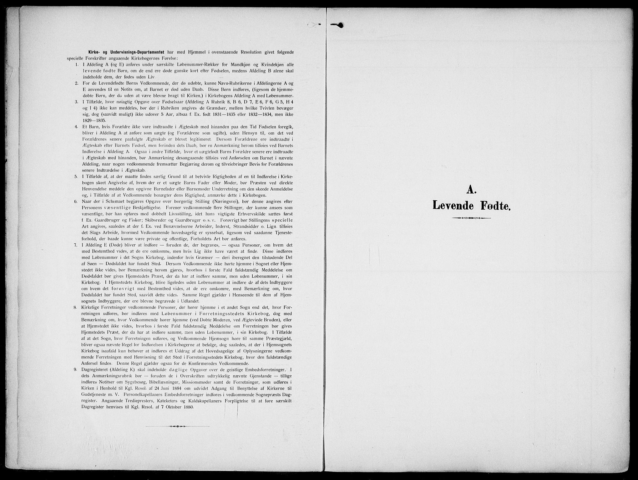 SAKO, Gjerpen kirkebøker, F/Fa/L0012: Ministerialbok nr. 12, 1905-1913